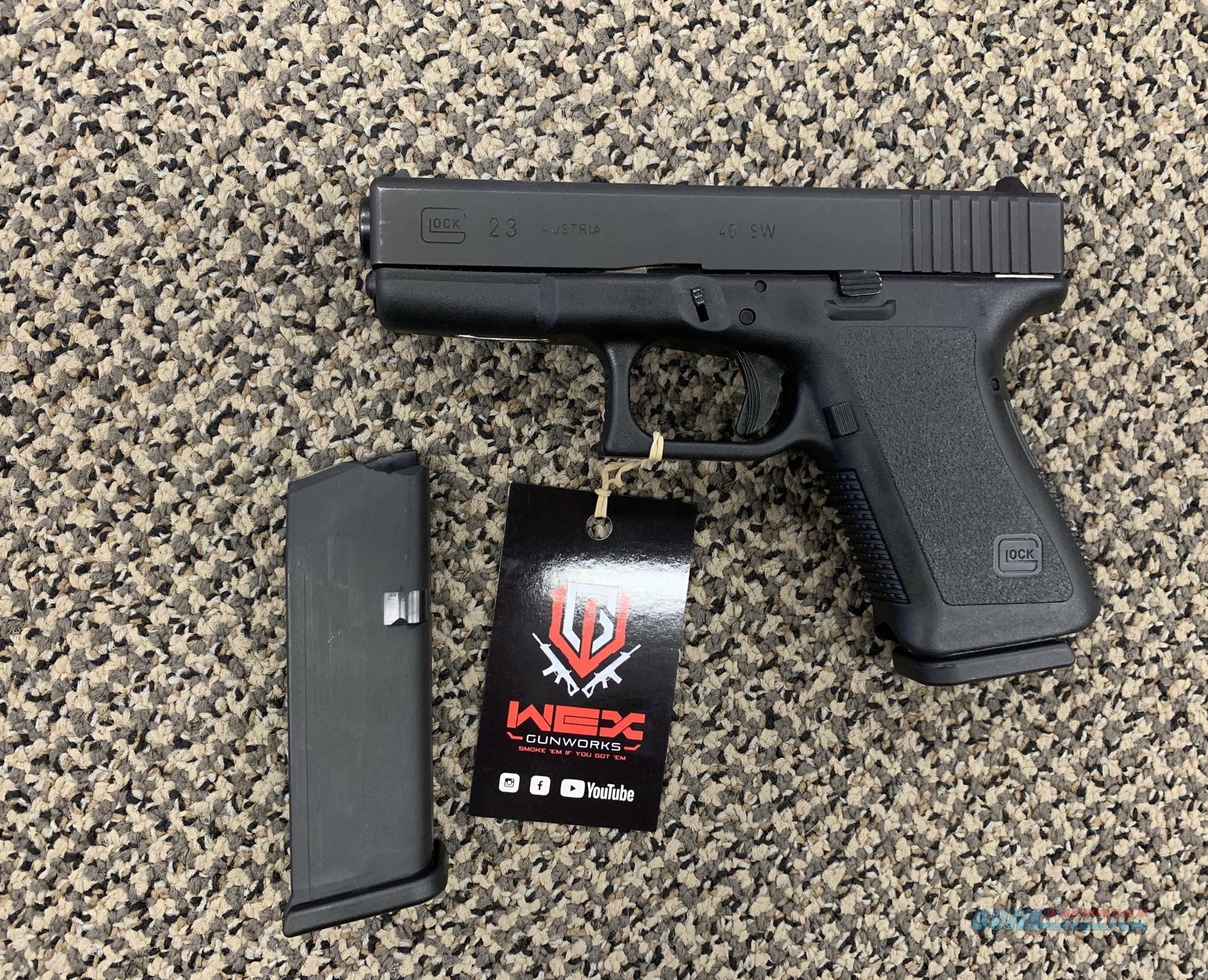 GLOCK 23 .40 S&W GENERATION 2  Guns > Pistols > Glock Pistols > 23