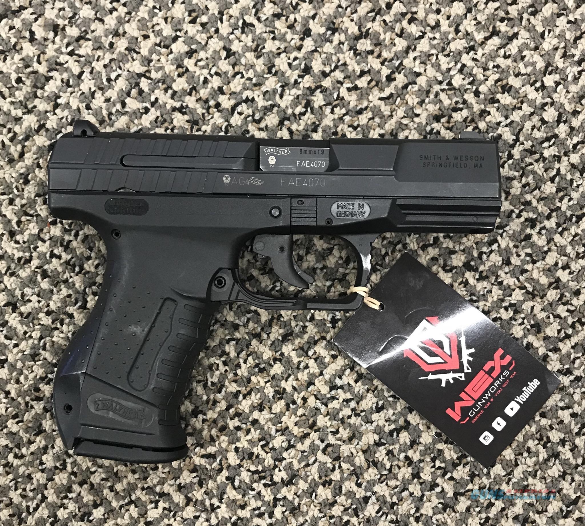 WALTHER P99 DAO 9MM  Guns > Pistols > Walther Pistols > Post WWII > P99/PPQ