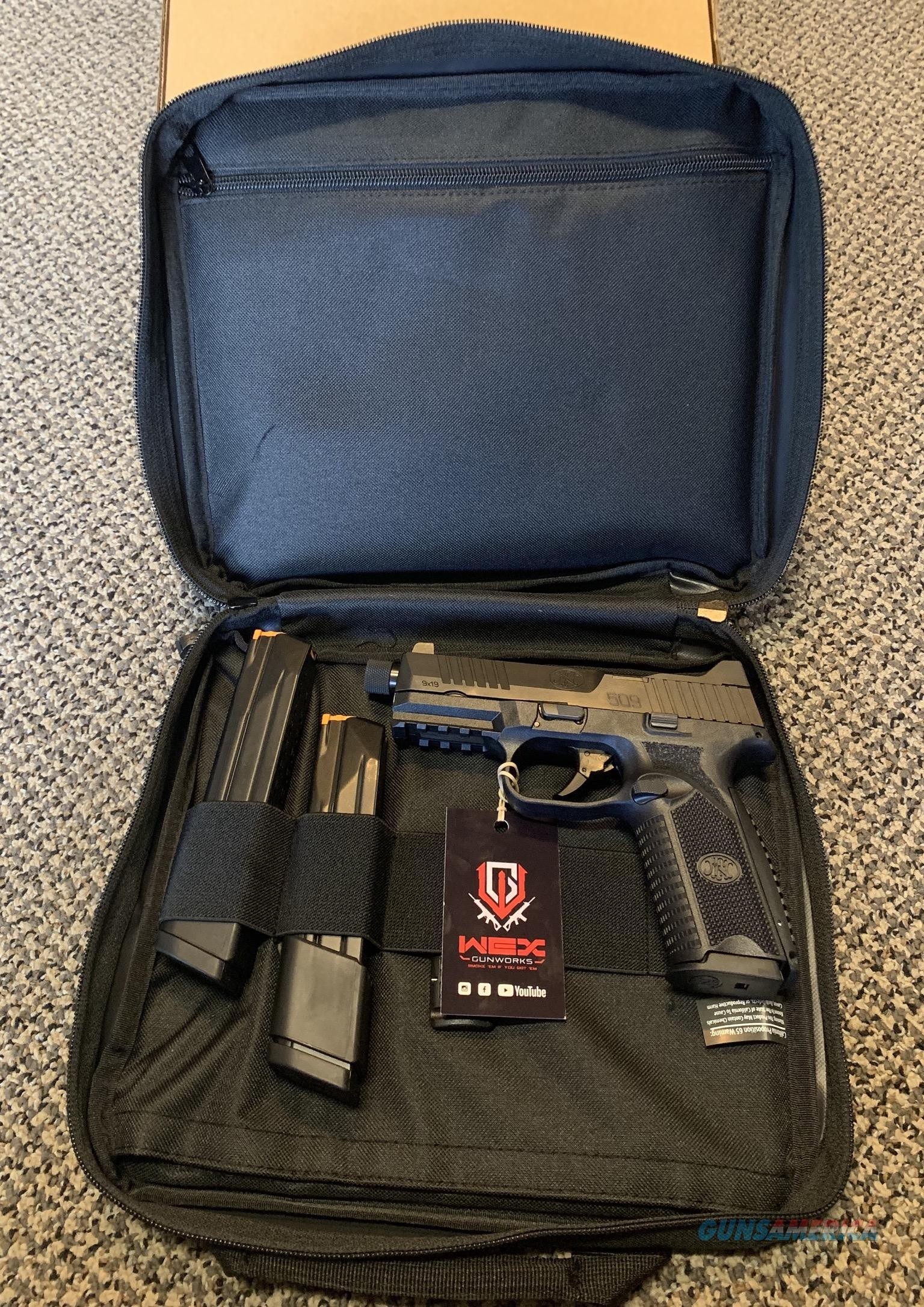 FN 509 TACTICAL 9MM NEW IN BOX  Guns > Pistols > FNH - Fabrique Nationale (FN) Pistols > FN 509