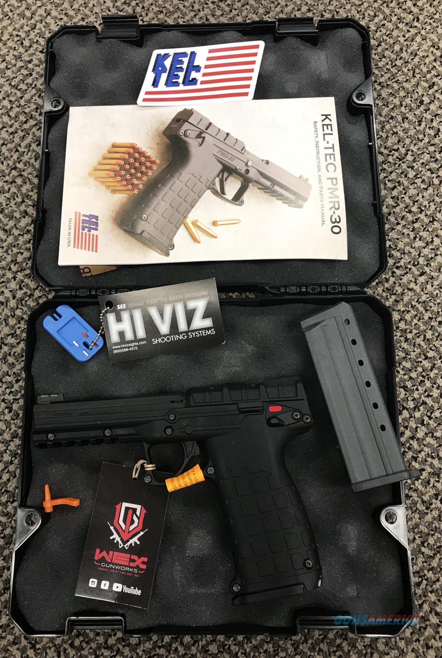 KEL-TEC PMR 30 .22 MAGNUM BLACK NIB  Guns > Pistols > Kel-Tec Pistols > .223 Type