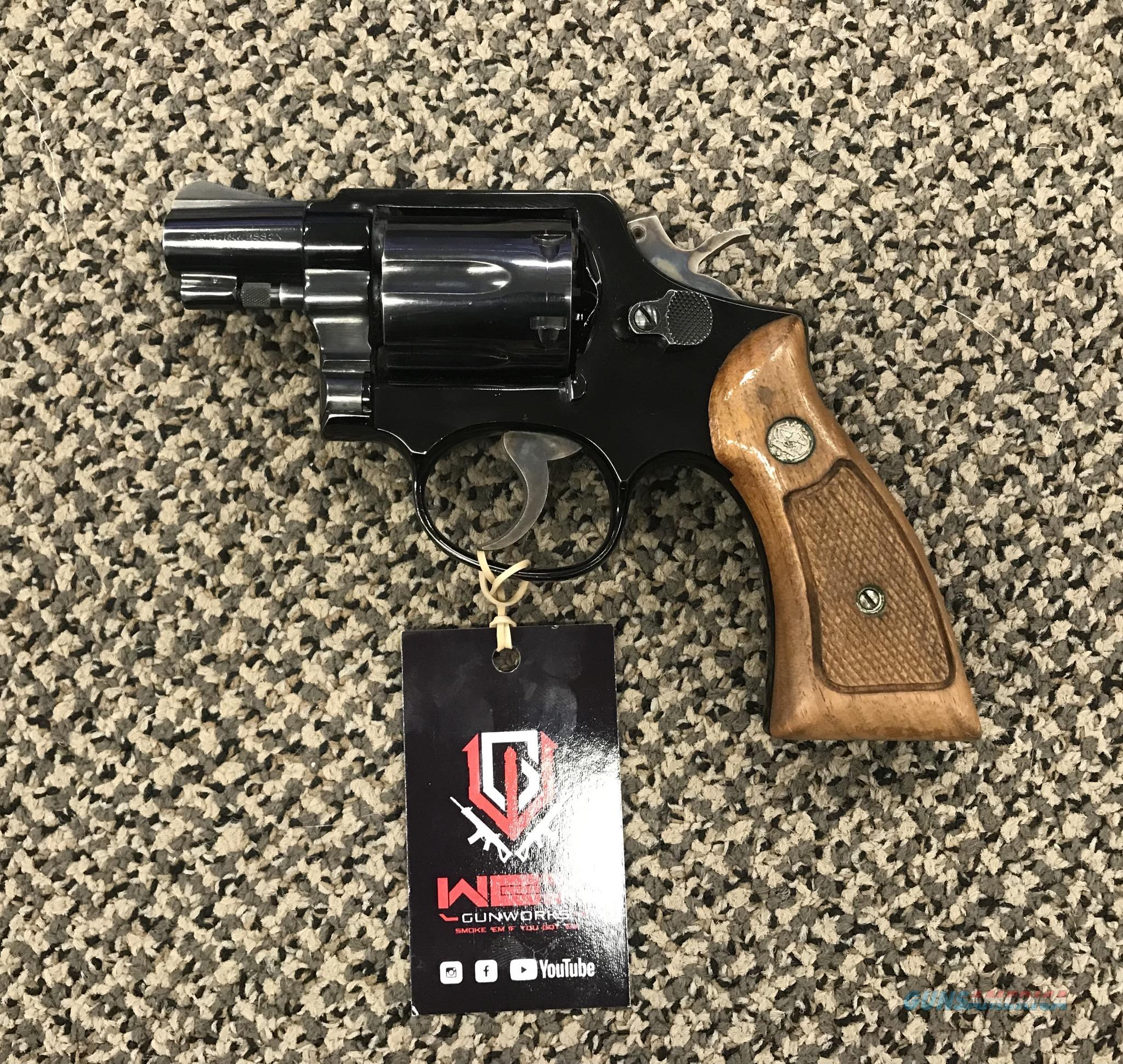 S&W MODEL 12-2 .38 SPECIAL AIRWEIGHT 2 INCH BBL 6 SHOT  Guns > Pistols > Smith & Wesson Revolvers > Full Frame Revolver