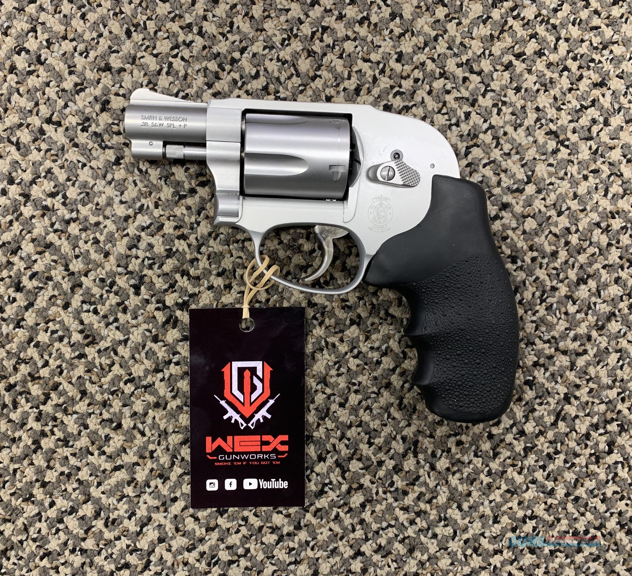 S&W MODEL 638-3 .38 SPECIAL REVOLVER  Guns > Pistols > Smith & Wesson Revolvers > Small Frame ( J )