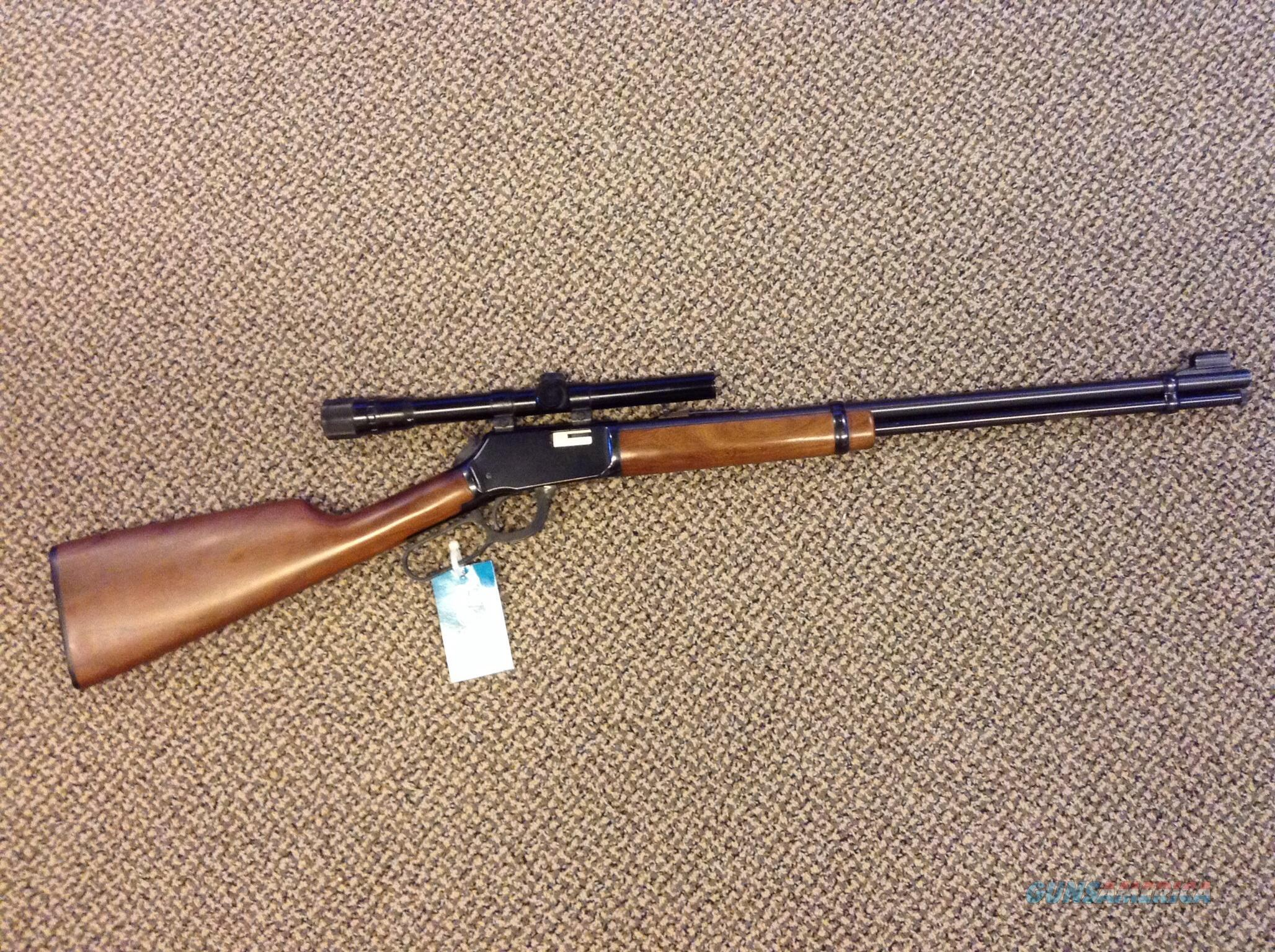 WINCHESTER MODEL 9422 M .22 MAGNUM WITH WEAVER V22-A SCOPE , MADE IN NEW HAVEN CONNECTICUT  Guns > Rifles > Winchester Rifles - Modern Lever > Other Lever > Post-64