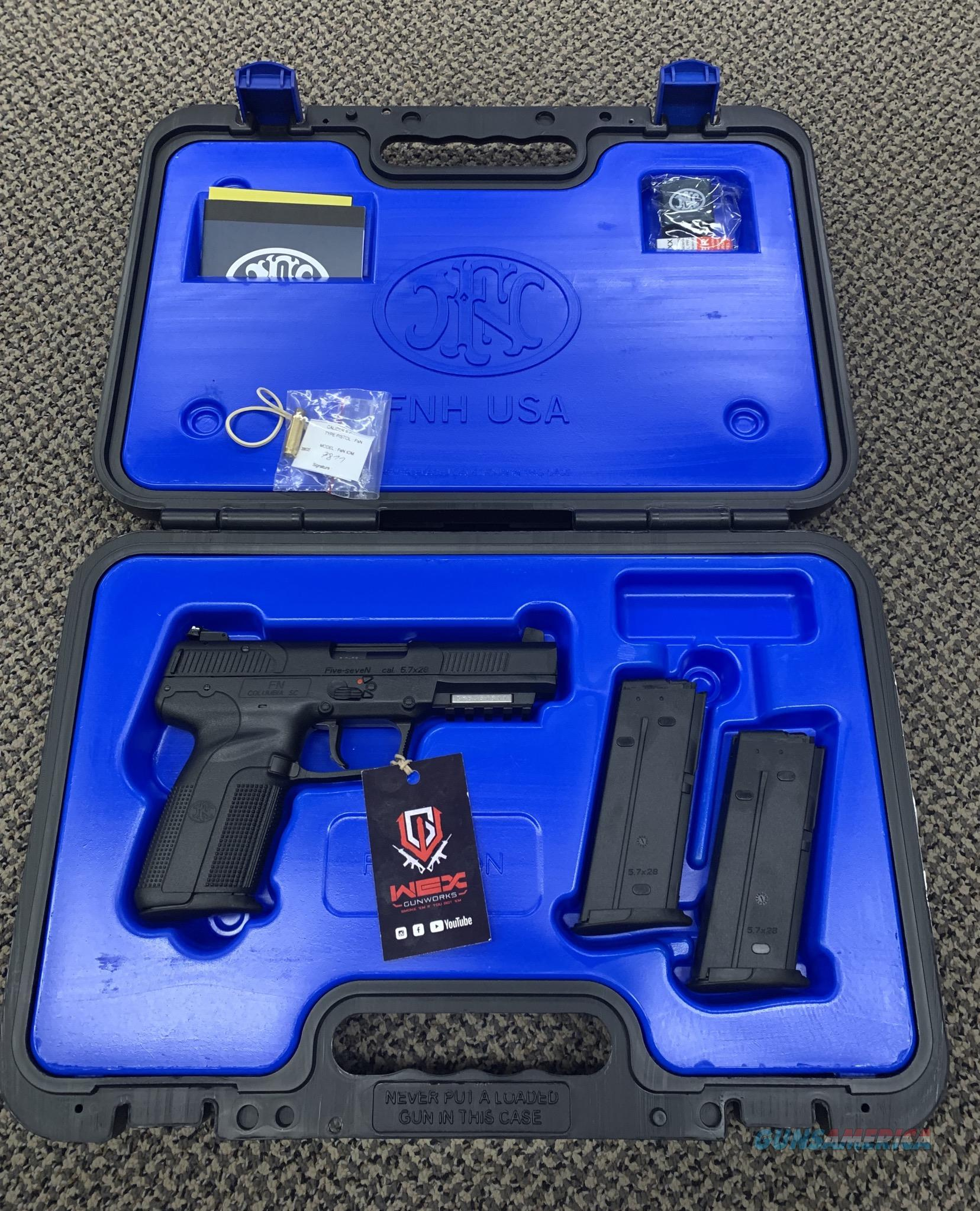 FN 5.7 PISTOL NEW IN BOX  Guns > Pistols > FNH - Fabrique Nationale (FN) Pistols > FiveSeven