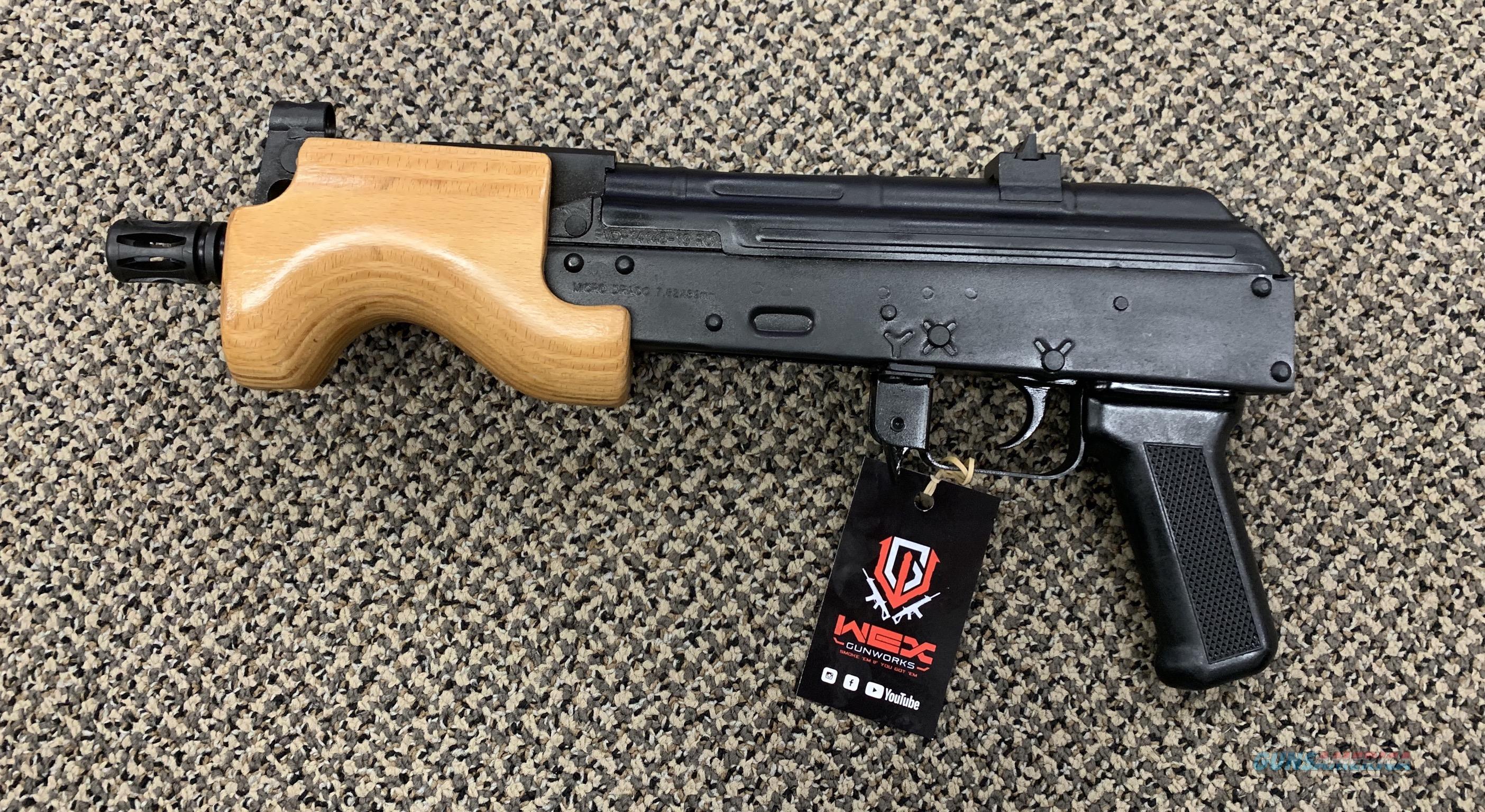 CENTURY ARMS MICRO DRACO PISTOL 7.62X39 NIB  Guns > Pistols > Century International Arms - Pistols > Pistols