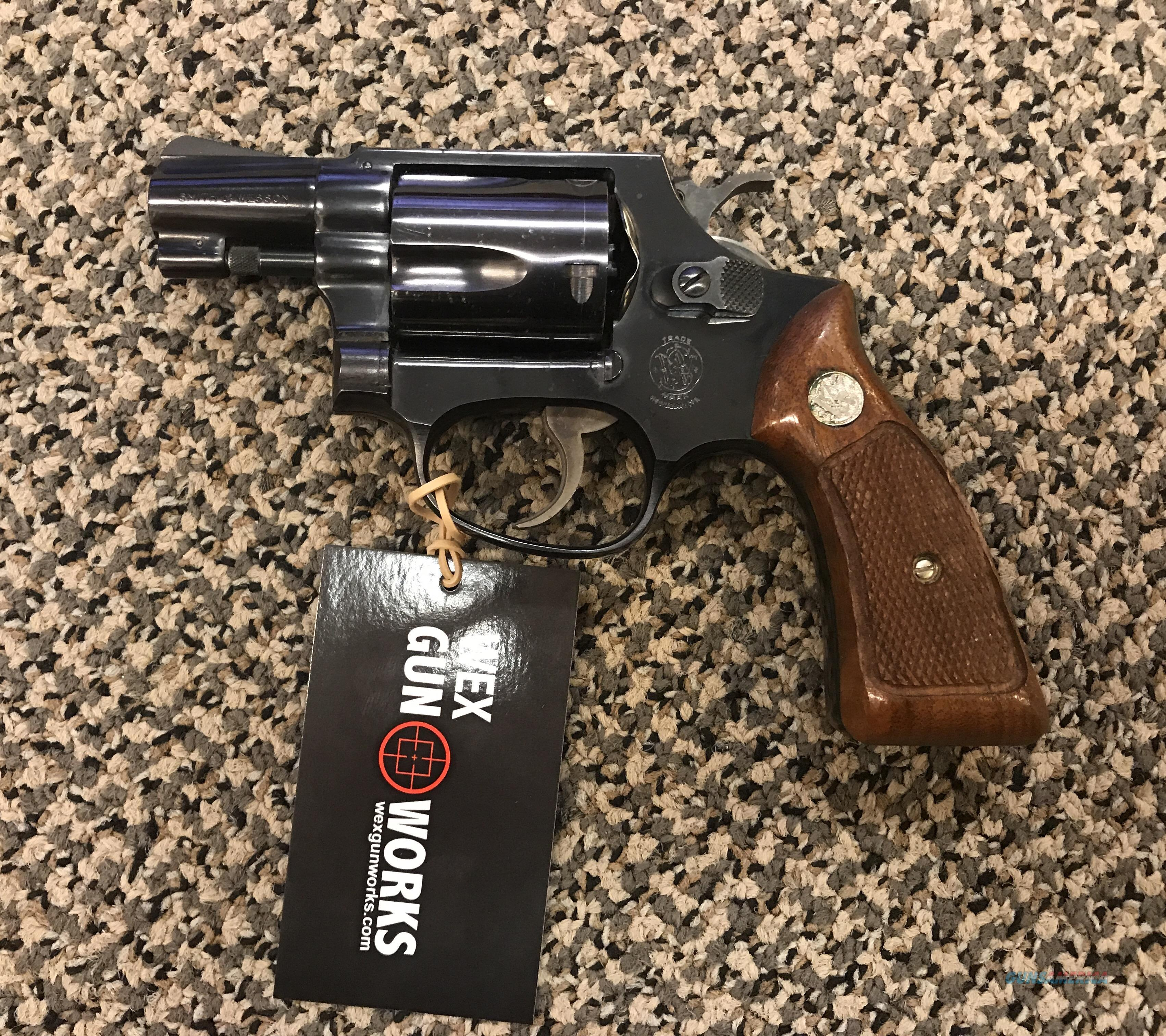 S&W MODEL 36 NO DASH THIRTY EIGHT SPECIAL 1 5/8 INCH BBL 5 SHOT EXCELLENT CONDITION  Guns > Pistols > Smith & Wesson Revolvers > Small Frame ( J )