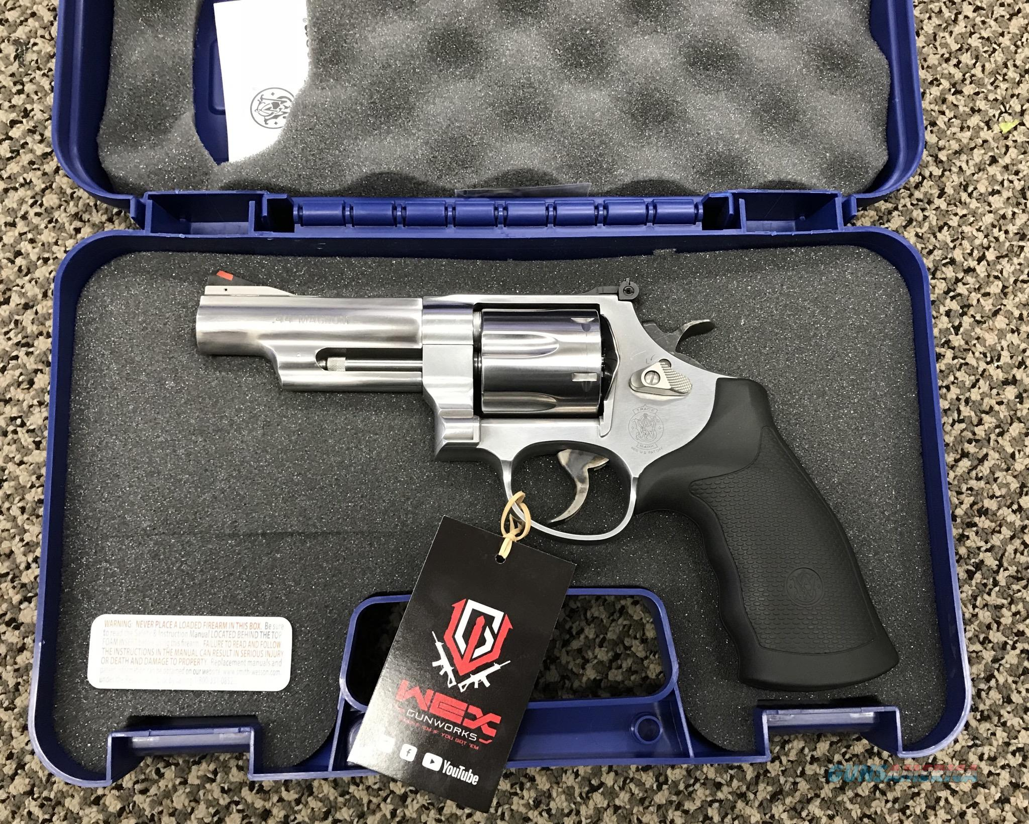 S&W MODEL 629-6 44 MAGNUM 4 INCH BBL MAGNAPORT PISTOL PORTING NEW IN BOX  Guns > Pistols > Smith & Wesson Revolvers > Full Frame Revolver