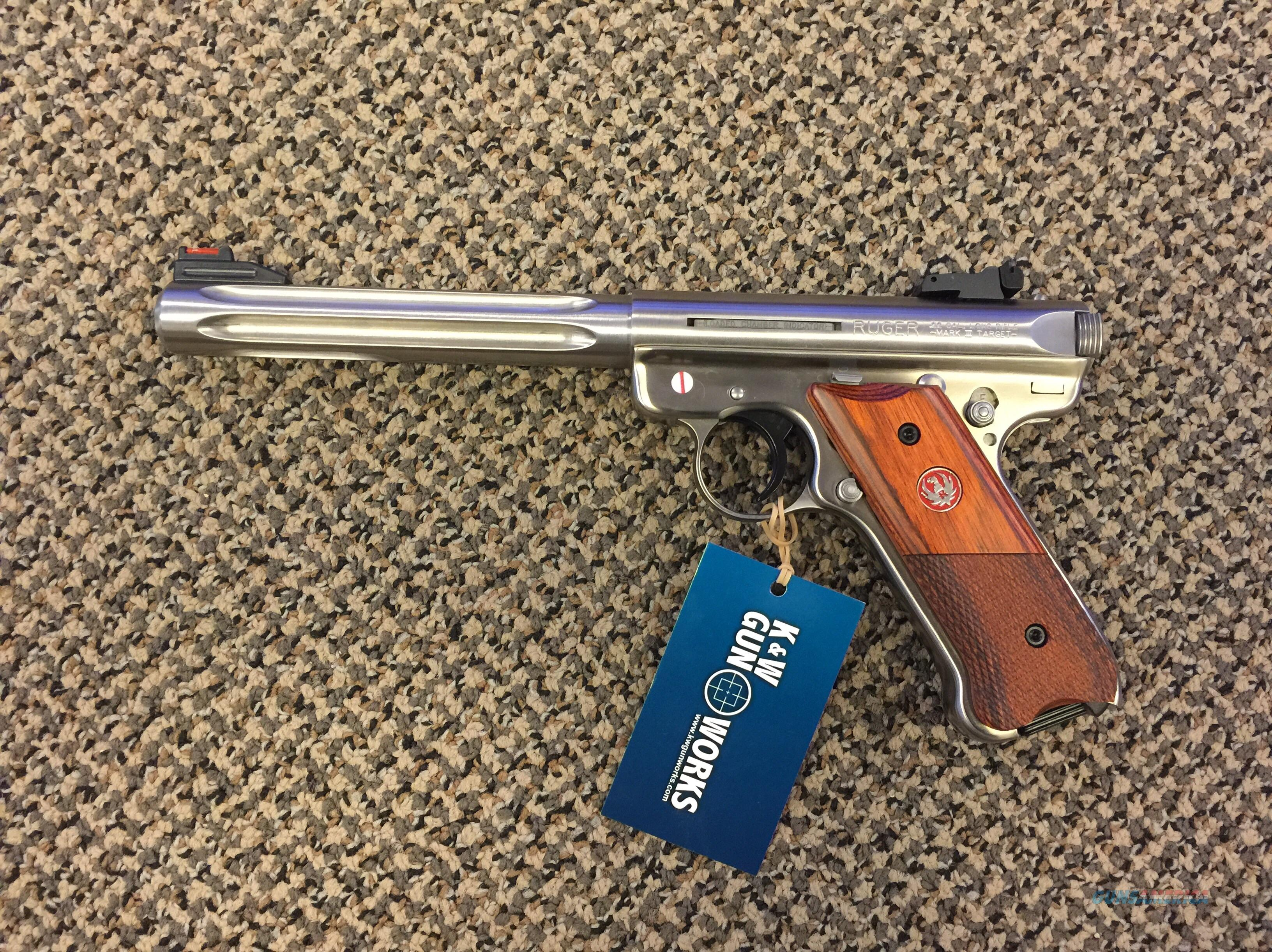 RUGER MARK III HUNTER STAINLESS 6 7/8 FLUTED BBL .22LR NEW IN BOX  Guns > Pistols > Ruger Semi-Auto Pistols > Mark I & II Family