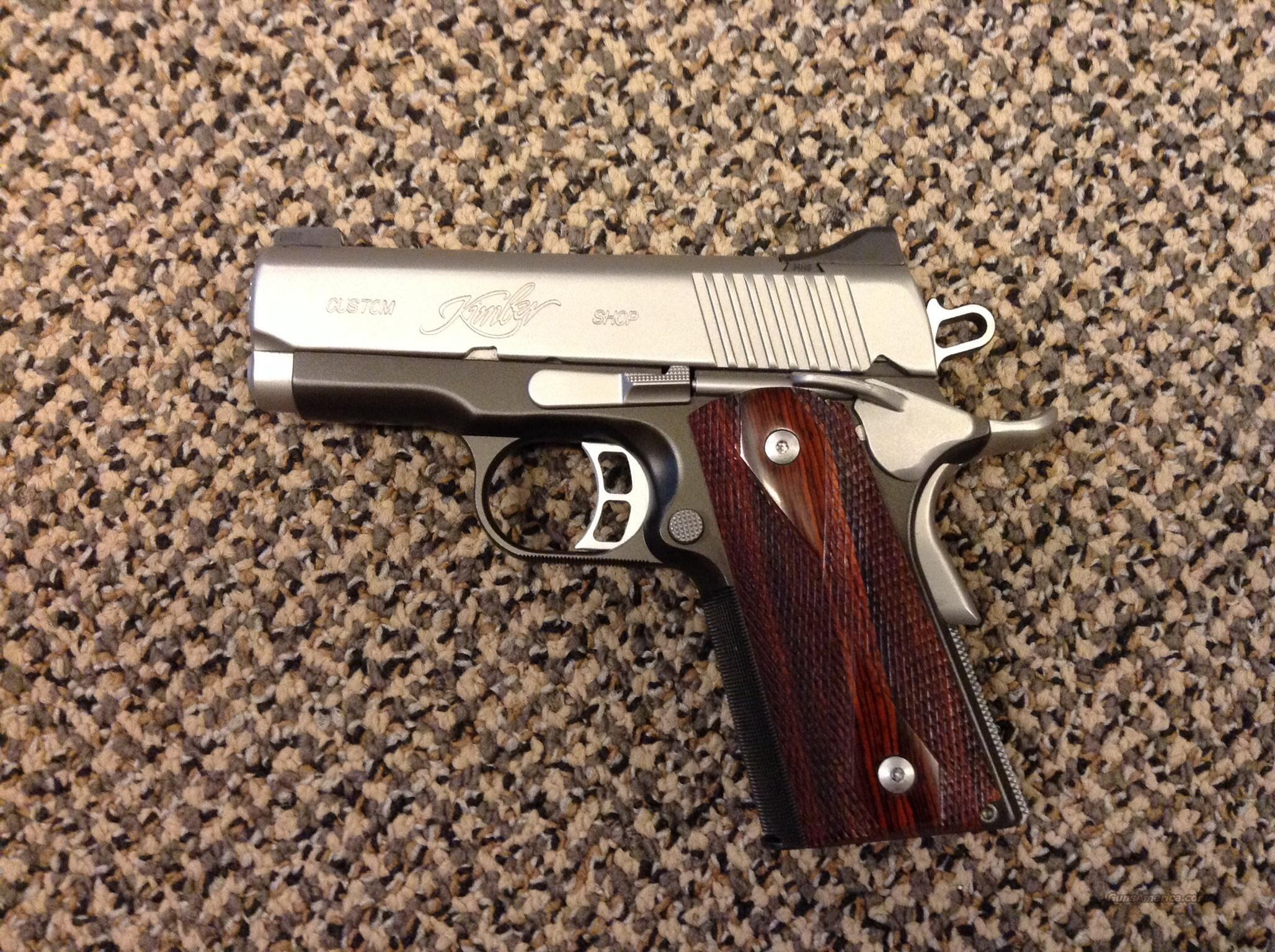 KIMBER CUSTOM SHOP ULTRA CDP II  Guns > Pistols > Kimber of America Pistols