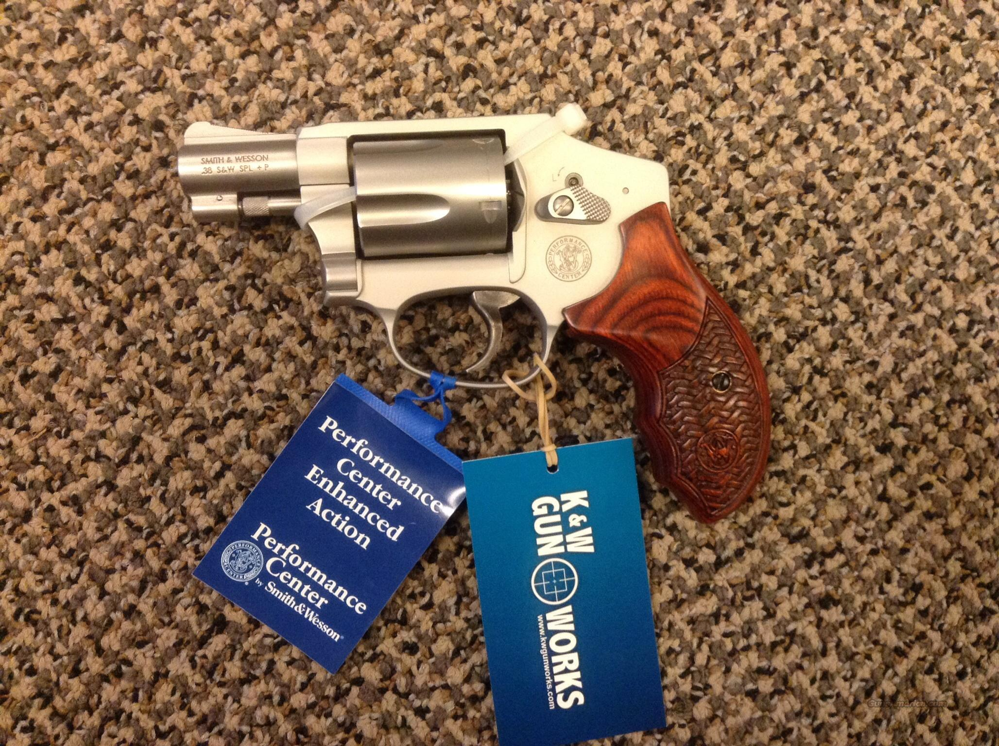 S&W MODEL 642 PERFORMANCE CENTER .38 SPECIAL + P  Guns > Pistols > Smith & Wesson Revolvers > Performance Center