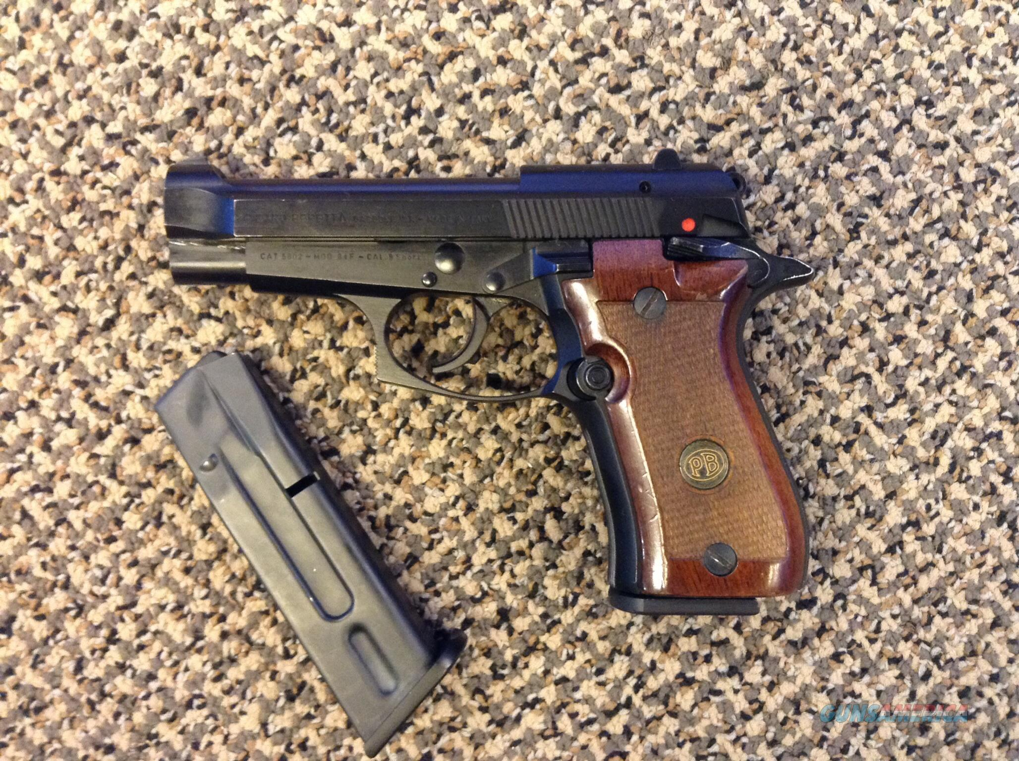 BERETTA  84F .380ACP  MADE IN ITALY WITH TWO MAGS  Guns > Pistols > Beretta Pistols > Cheetah Series > Model 84