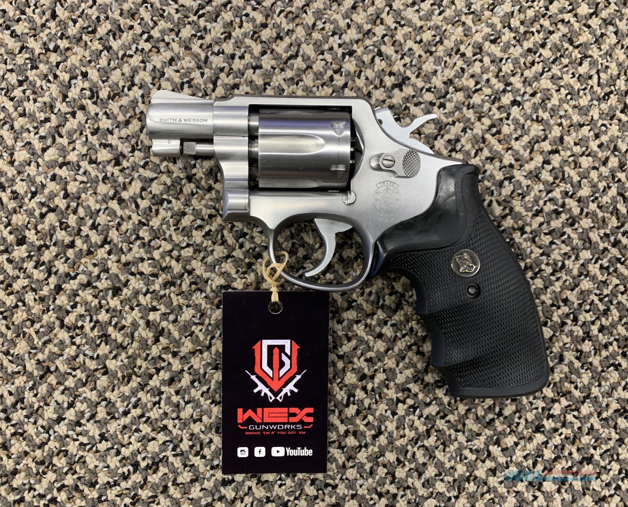 S&W MODEL 64-4 .38 SPECIAL STAINLESS 2 INCH BBL  Guns > Pistols > Smith & Wesson Revolvers > Med. Frame ( K/L )