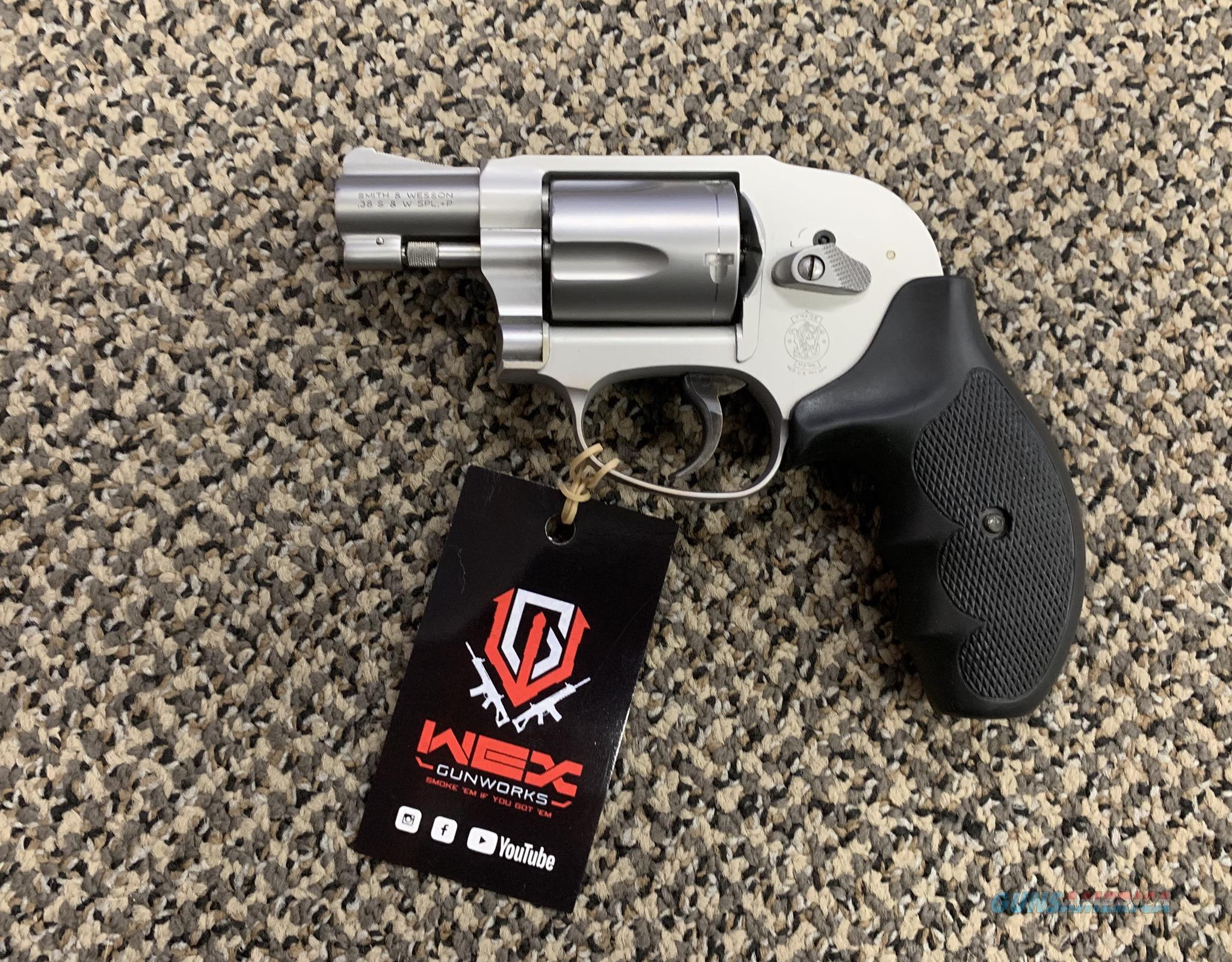 S&W MODEL 638-3 .38 SPECIAL 1.875 INCH BBL STAINLESS   Guns > Pistols > Smith & Wesson Revolvers > Small Frame ( J )