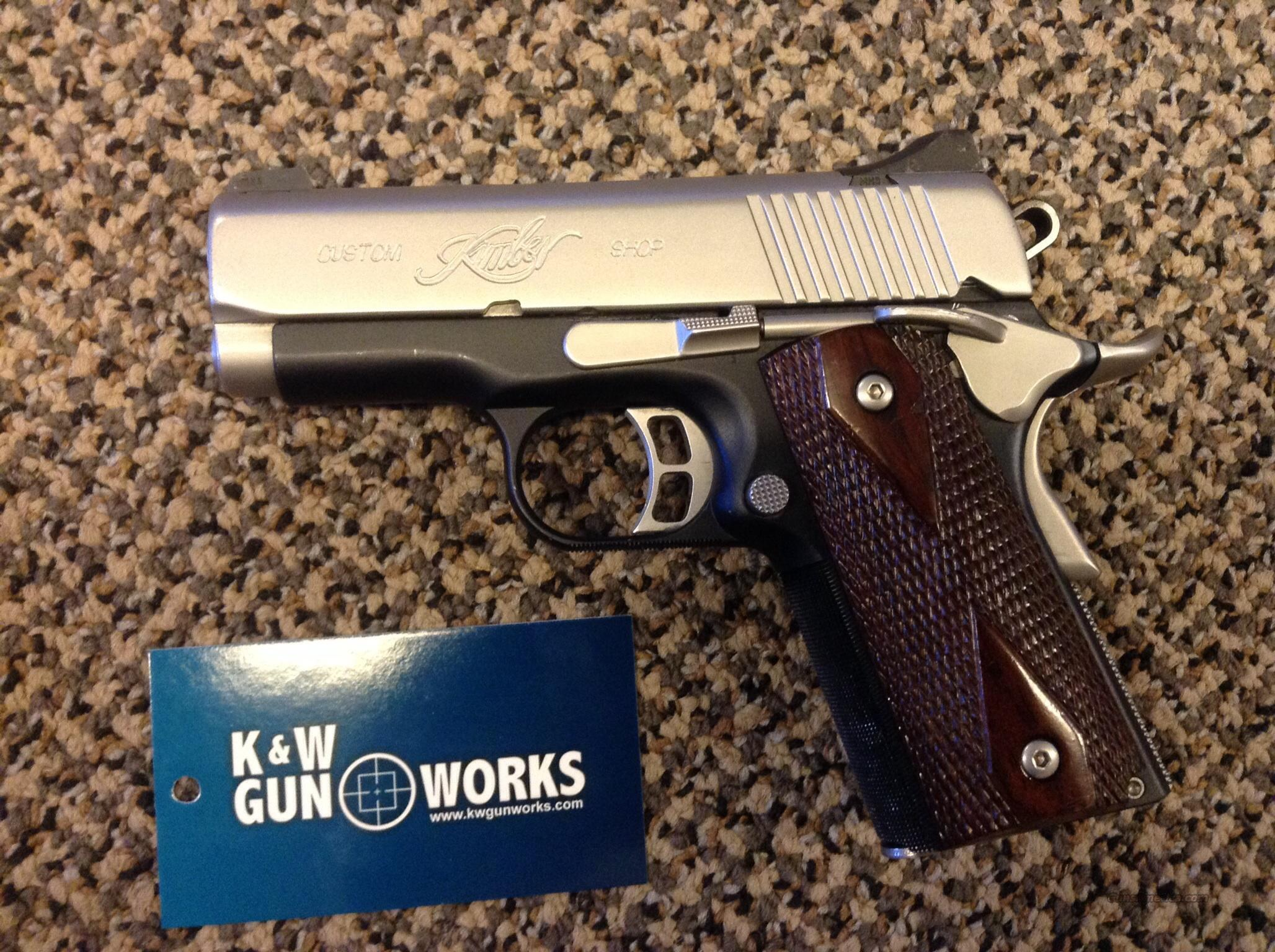 KIMBER ULTRA CDP II 3 INCH .45 ACP WITH NIGHT SIGHTS  Guns > Pistols > Kimber of America Pistols