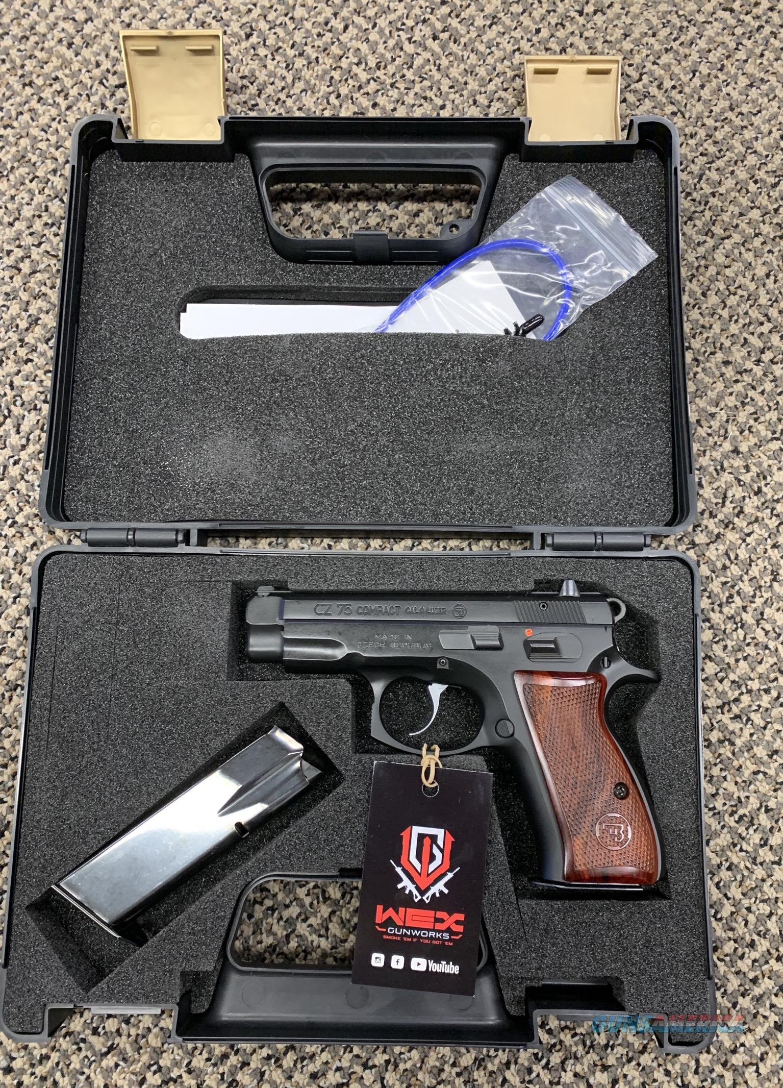 CZ 75 COMPACT 9MM 3 5/8 INCH BBL   Guns > Pistols > CZ Pistols