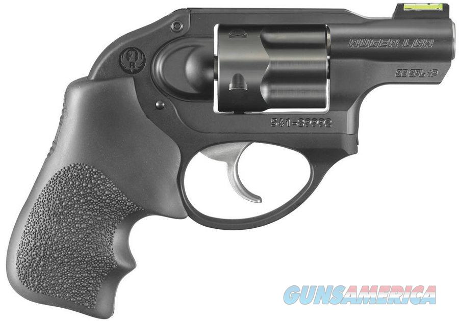 RUGER LCR .38 SPECIAL PLUS P WITH FACTORY FIBER OPTIC FRONT SIGHT MINT  Guns > Pistols > Ruger Double Action Revolver > LCR