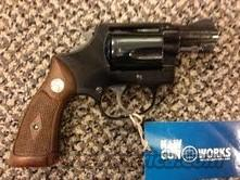 SMITH AND WESSON MODEL 37 AIRWEIGHT BLUED  Guns > Pistols > Smith & Wesson Revolvers > Pocket Pistols