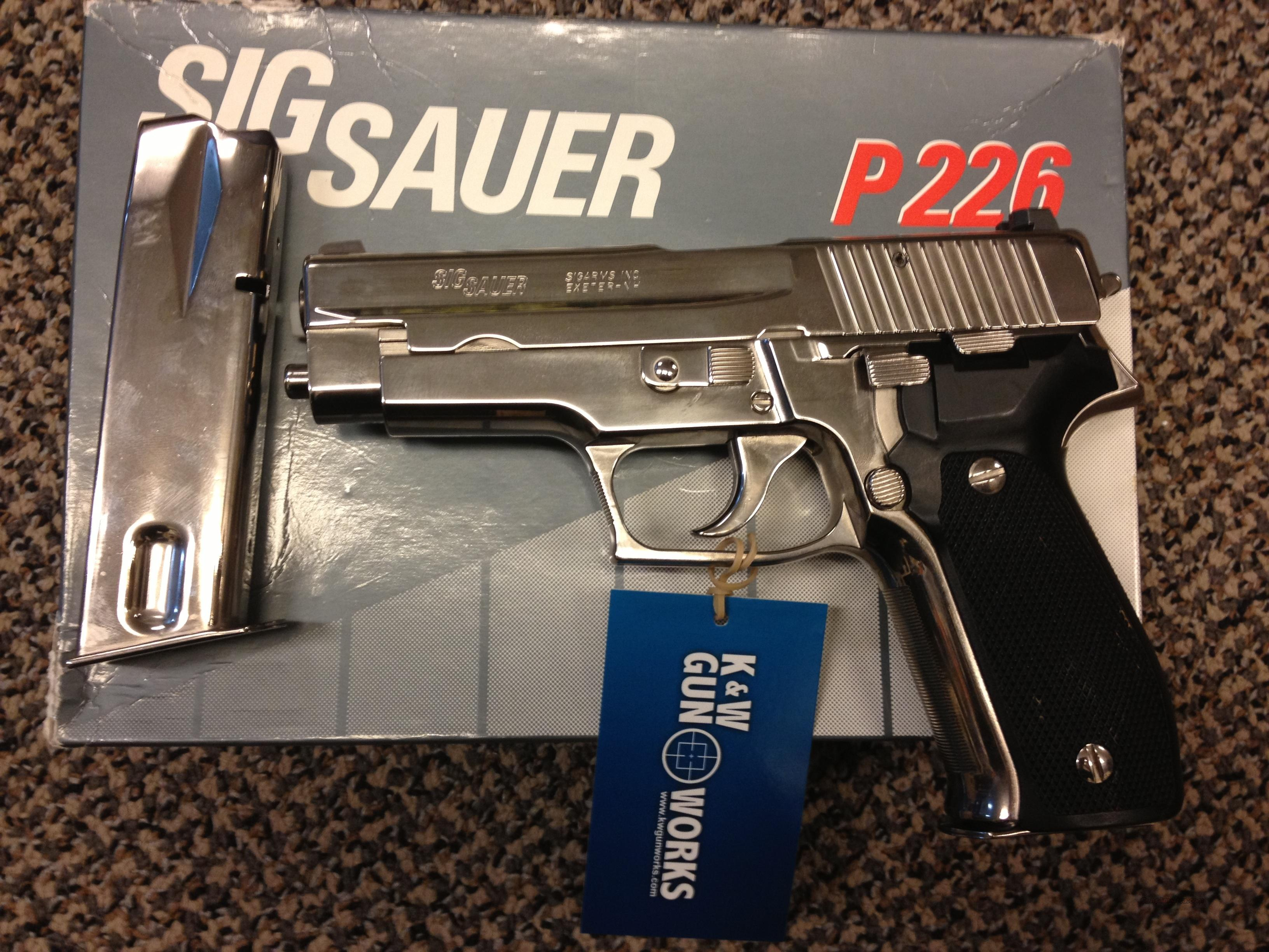 SIG SAUER P226 , NICKLE FINISH AT SIG SAUER  Guns > Pistols > Sig - Sauer/Sigarms Pistols > P226