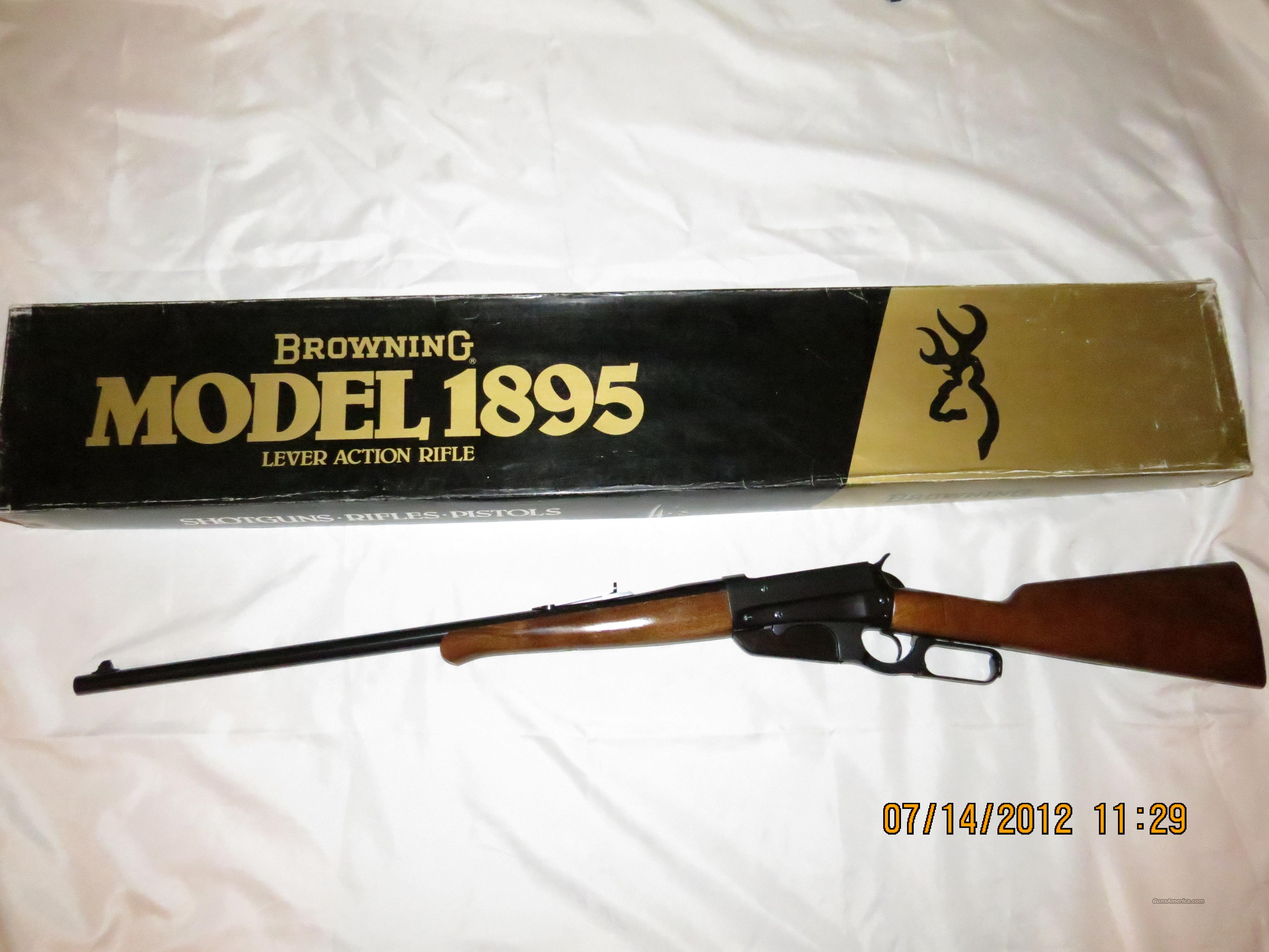 Browniing Model 1895  Guns > Rifles > Browning Rifles > Lever Action