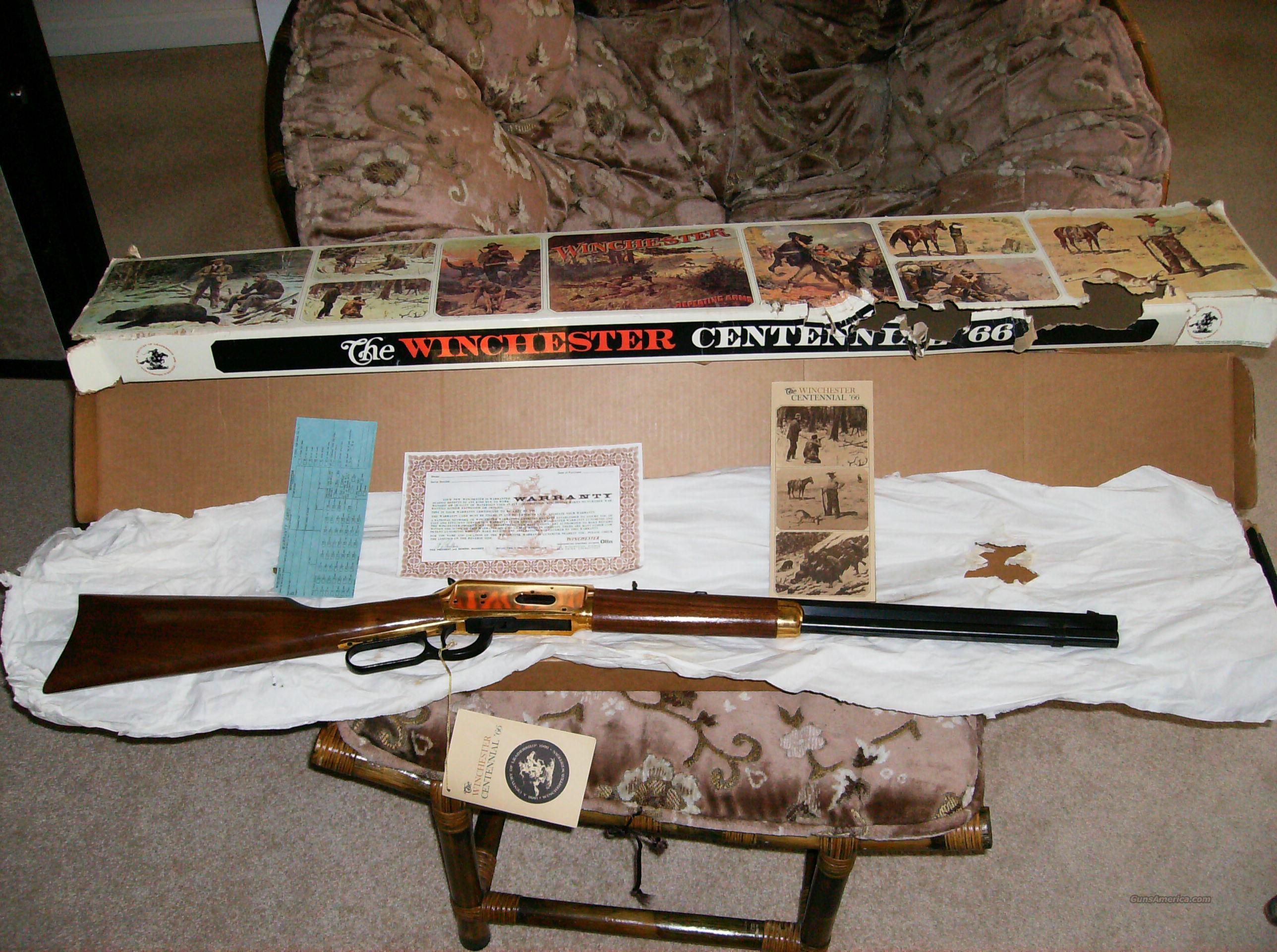 Winchester Centennial '66  Guns > Rifles > Winchester Rifle Commemoratives