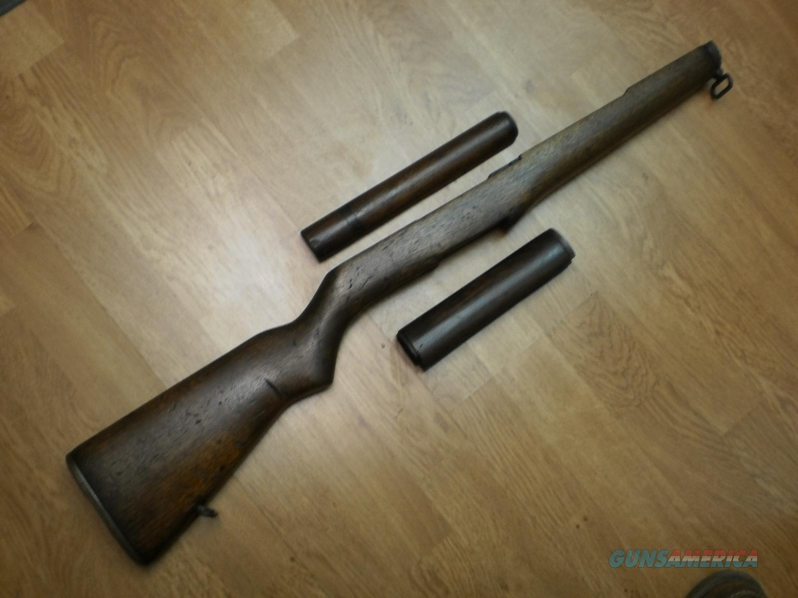 M1 GARAND STOCK & HANDGUARDS IN SOLID VERY GOOD CONDITION  Non-Guns > Gunsmith Tools/Supplies