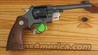 COLT OFFICERS MODEL 22 CALIBER  Guns > Pistols > Colt Double Action Revolvers- Pre-1945