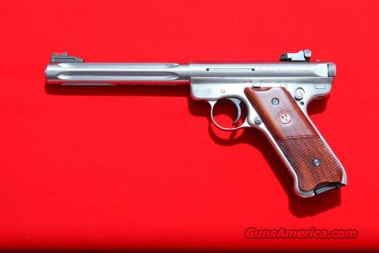 "Ruger MK III Hunter, 6-7/8"" Barrel,  22 LR Pistol, CA.  Guns > Pistols > Ruger Semi-Auto Pistols > Mark I & II Family"