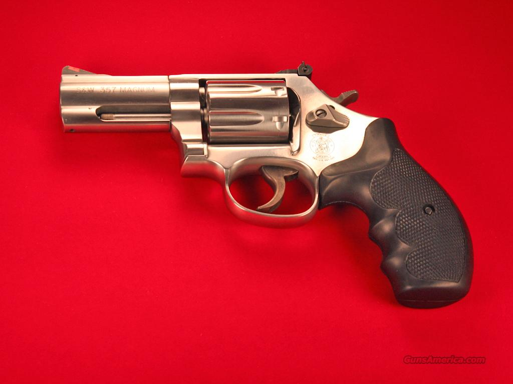 "Smith & Wesson 686 Plus; 7-shot , 3"" Barrel 357 Magnum Revolver, NIB, CA  Guns > Pistols > Smith & Wesson Revolvers > Full Frame Revolver"