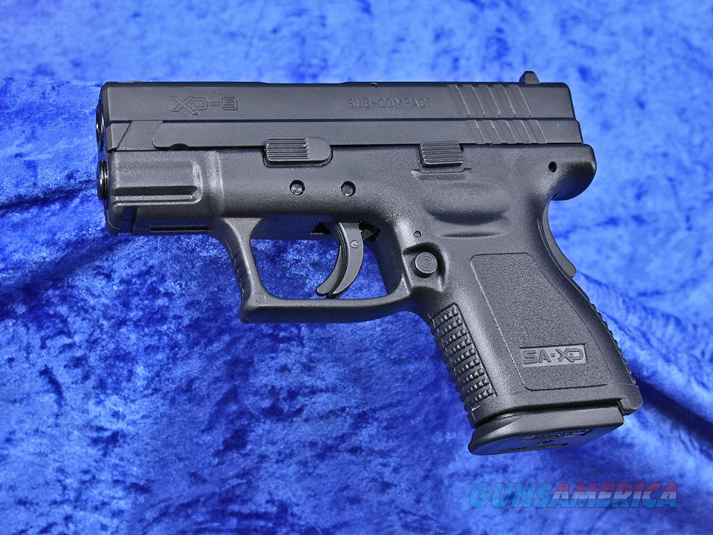 "Springfield Armory XD-9 9mm 3"" 10-RD New XD9801SP06 CA OK  Guns > Pistols > Springfield Armory Pistols > XD (eXtreme Duty)"