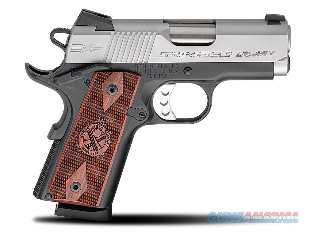 Springfield 1911 EMP 9mm 8+1 PI9209LP CA OK  Guns > Pistols > Springfield Armory Pistols > 1911 Type