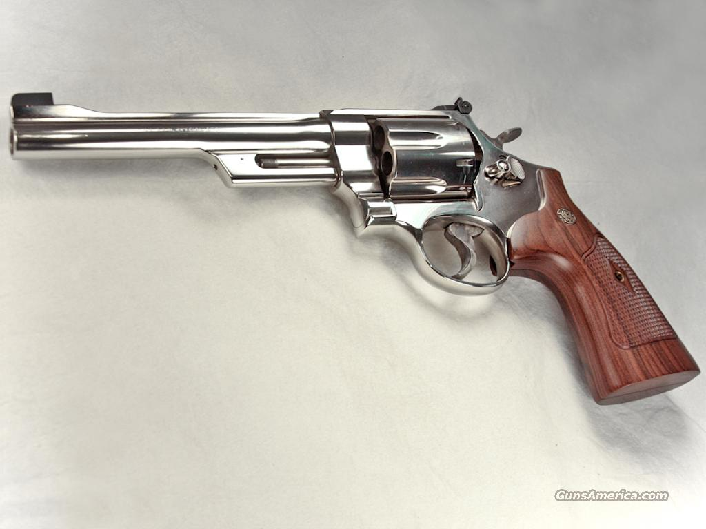 Smith & Wesson Model 24, Nickel Plated, .44 Special Revolver, NIB  Guns > Pistols > Smith & Wesson Revolvers > Full Frame Revolver