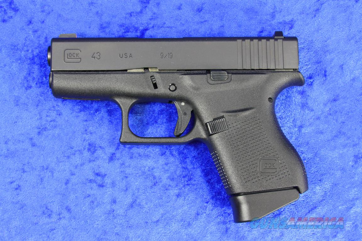 Glock 43 TALO 9mm Pistol NEW UI4350501 - NO CA SALES  Guns > Pistols > Glock Pistols > 43