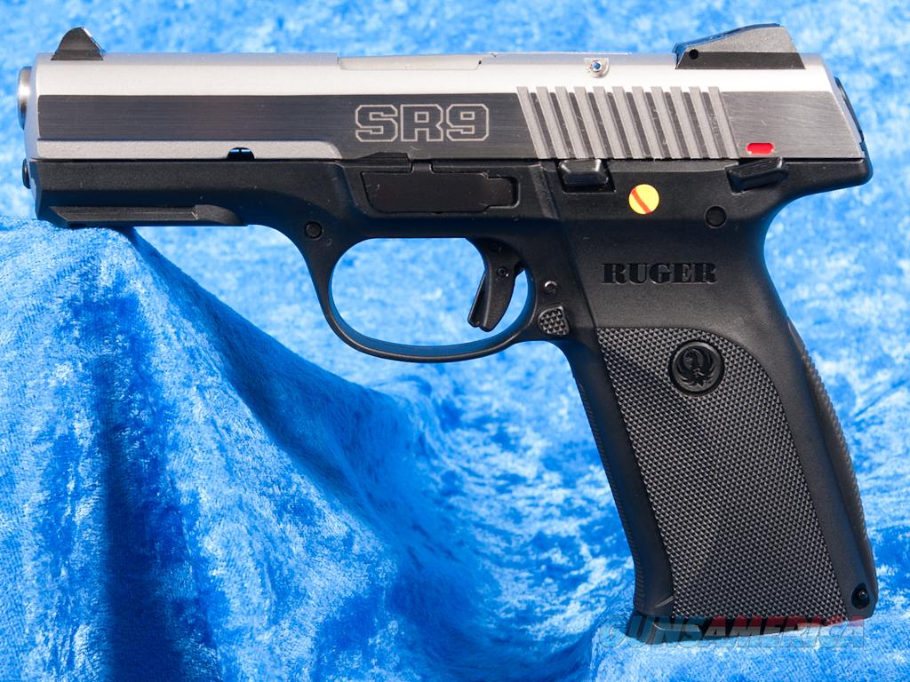Ruger SR9 CA Stainless 9mm 10+1 NEW Discontinued Model  Guns > Pistols > Ruger Semi-Auto Pistols > SR Family > SR9