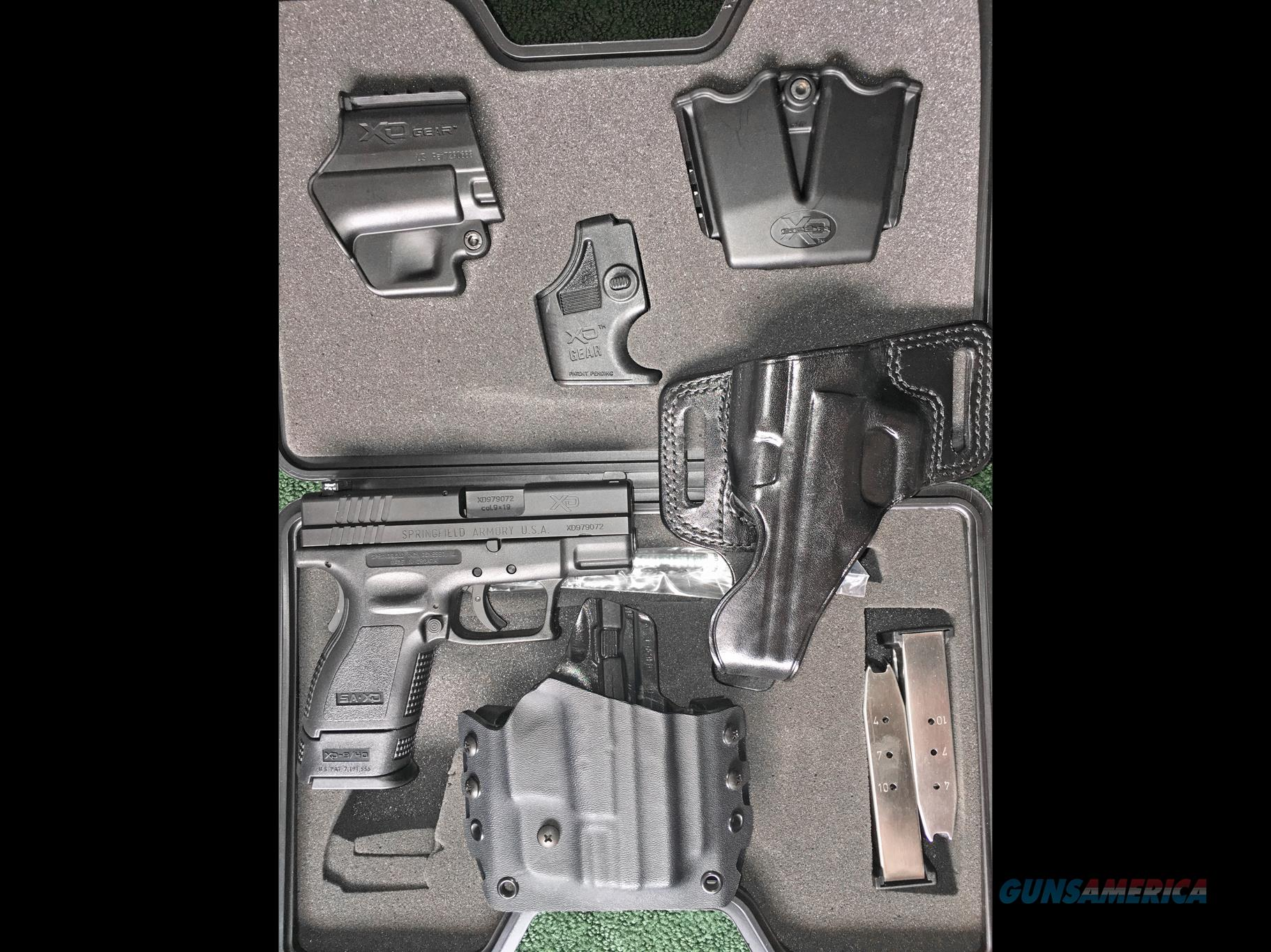 "Springfield XD9 Subcompact 3"" 9mm Conceal Carry Package, Trijicon Night Sights, Extra Holsters, CA PPT OK  Guns > Pistols > Springfield Armory Pistols > XD (eXtreme Duty)"