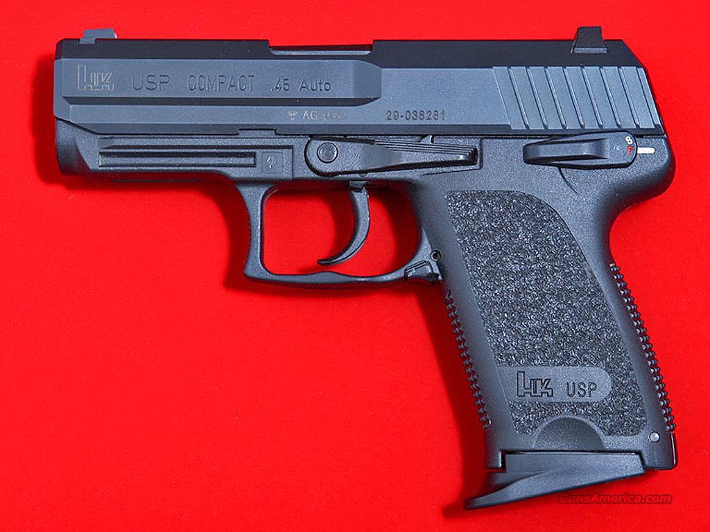 H&K USP 45 Compact 704531-A5 .45 ACP Pistol, NE... for sale