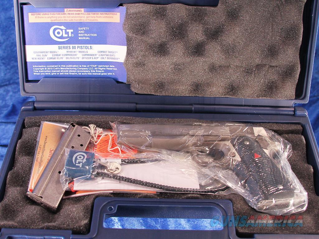 Colt Delta Elite 10mm Pistol, Factory New 02020 - NO CA SALES  Guns > Pistols > Colt Automatic Pistols (1911 & Var)