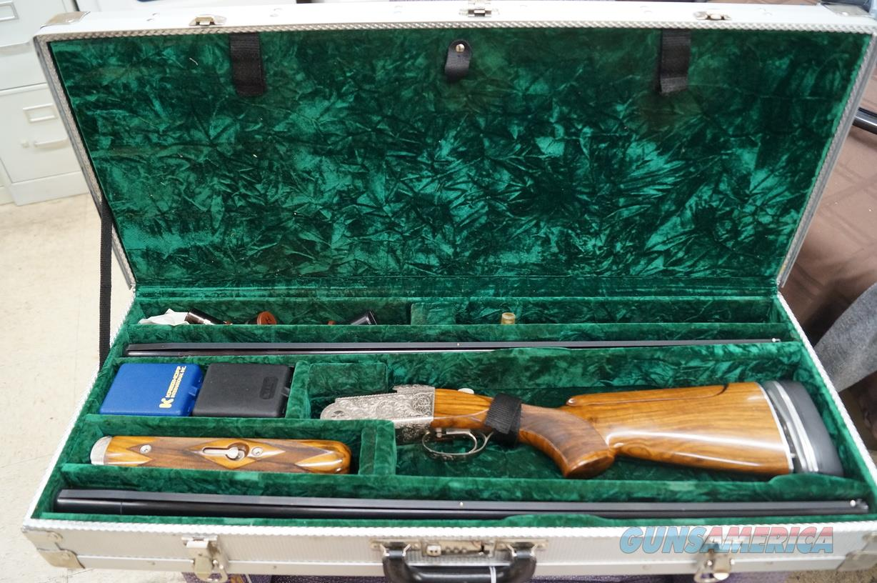 Krieghoff K80 Superscroll two Barrel set  Guns > Shotguns > Krieghoff Shotguns