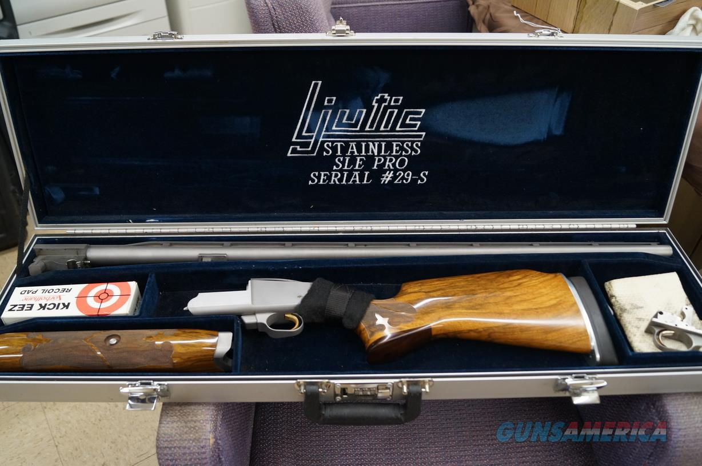 "Ljutic SLE Pro Stainless 12ga 35""  Guns > Shotguns > Ljutic Shotguns"