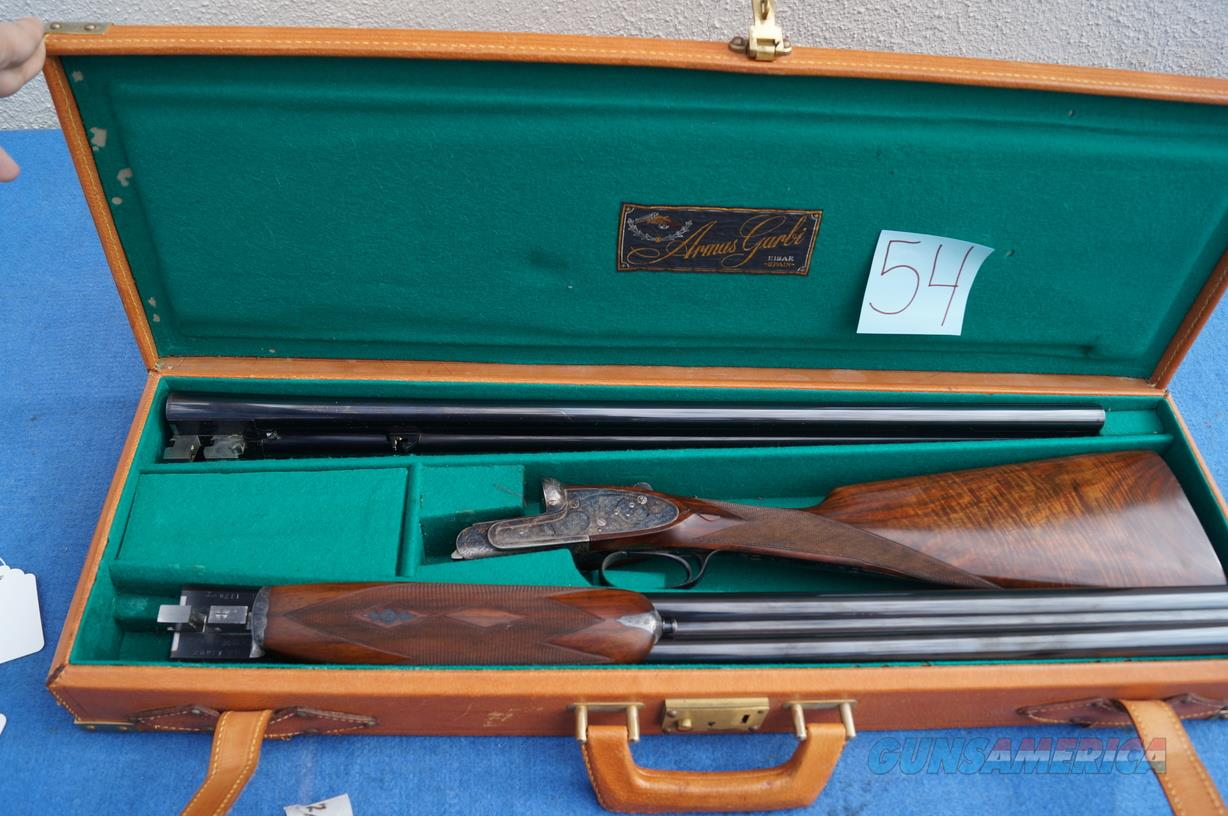 GARBI MODEL 103A TWO BARREL VENT RIB SET  Guns > Shotguns > Garbi Shotguns