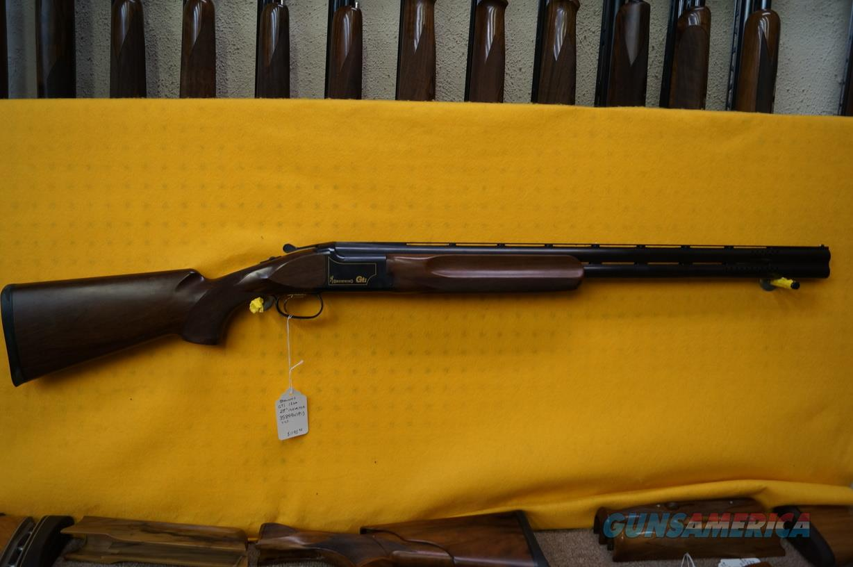 "Browning GTI 12ga 28""  Guns > Shotguns > Browning Shotguns > Over Unders > Citori > Trap/Skeet"
