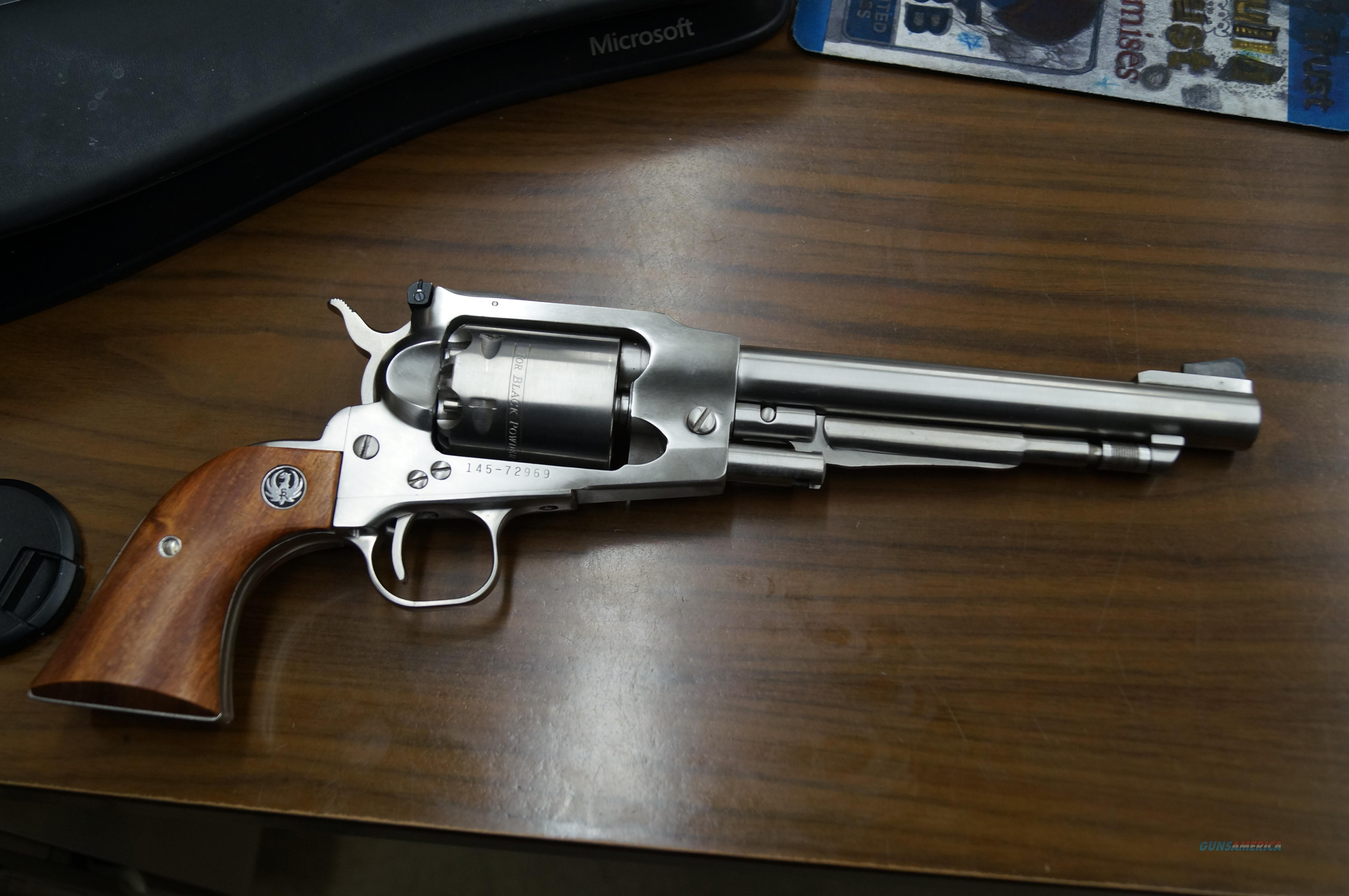 New in Box Ruger Black powder .44cal  pistol  Guns > Pistols > Ruger Cap & Ball Revolvers