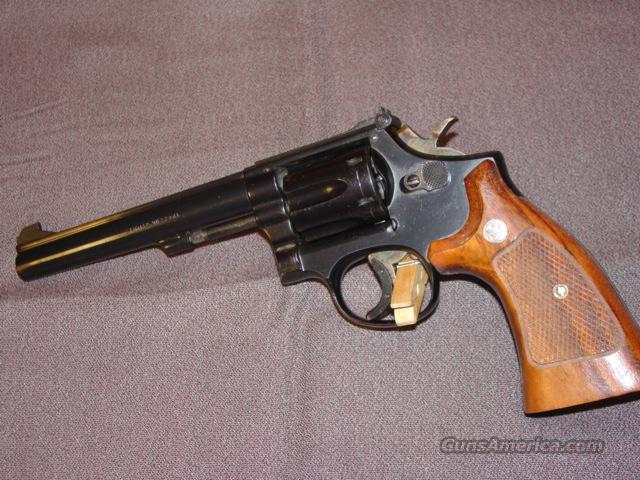 Smith and Wesson K22 revolver  Guns > Pistols > Smith & Wesson Revolvers > Full Frame Revolver