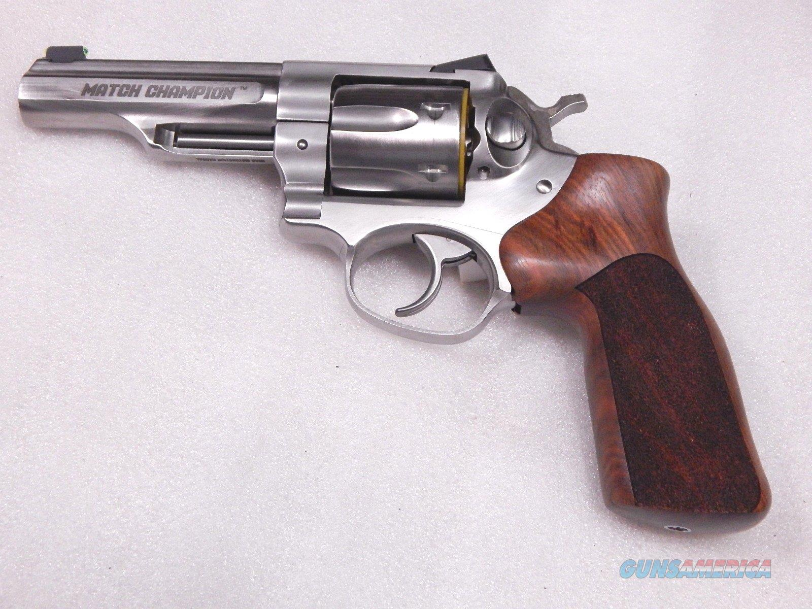 Ruger GP100 Match Champion NIB  Guns > Pistols > Ruger Double Action Revolver > GP100