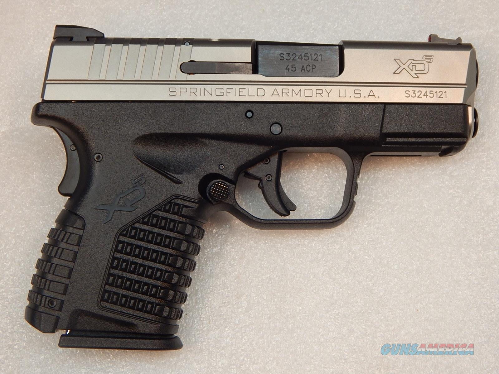 "Springfield XDS 45 Two-Tone NIB - 2 mags BBL 3.3""  Guns > Pistols > Springfield Armory Pistols > XD-S"
