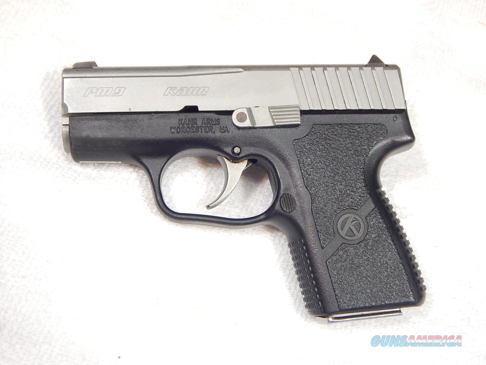 Kahr PM 9 9mm two mags  Guns > Pistols > Kahr Pistols