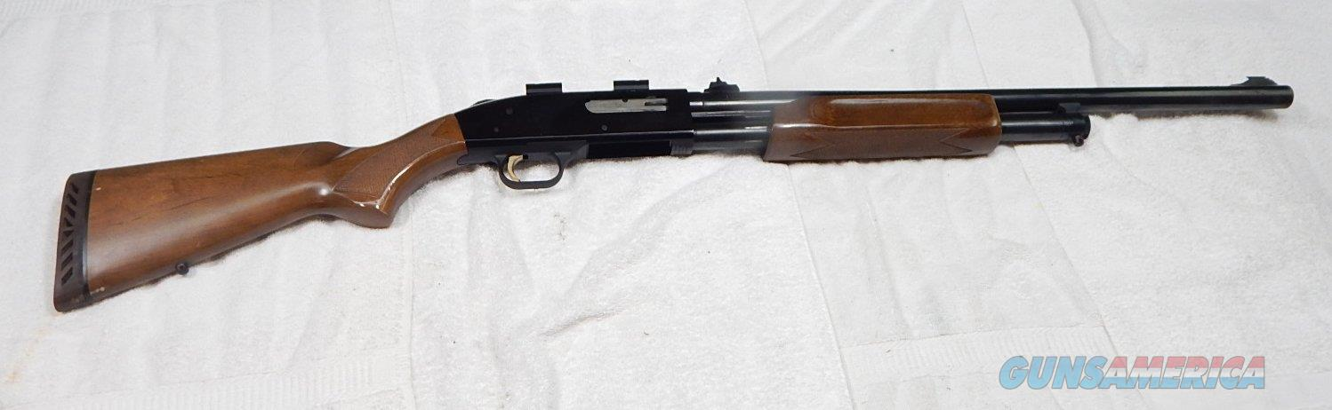 "Mossberg 500 Rifled 24"" barrel deer gun w/scope bases  Guns > Shotguns > Mossberg Shotguns > Pump > Sporting"