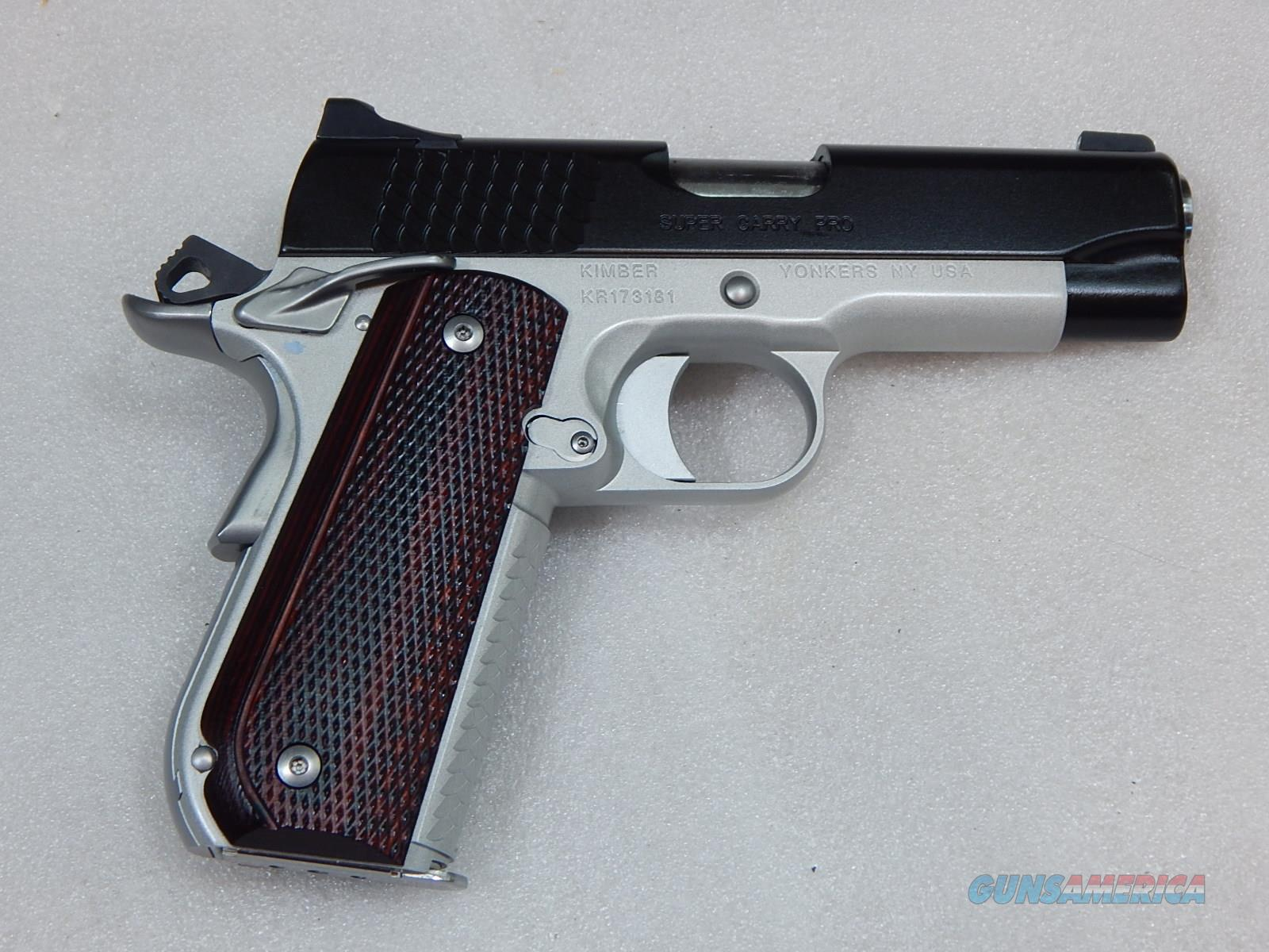 Kimber Super Carry Pro KR173181 NIB   Guns > Pistols > Kimber of America Pistols > 1911