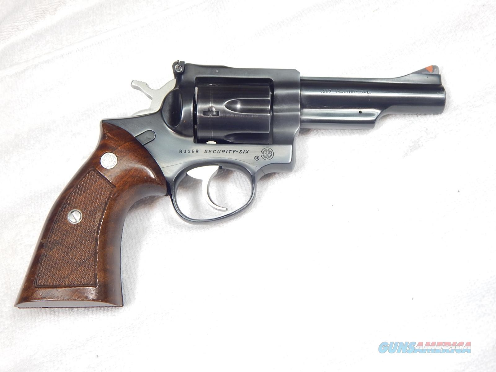 """Ruger Security Six 4"""" BL  Guns > Pistols > Ruger Double Action Revolver > Security Six Type"""
