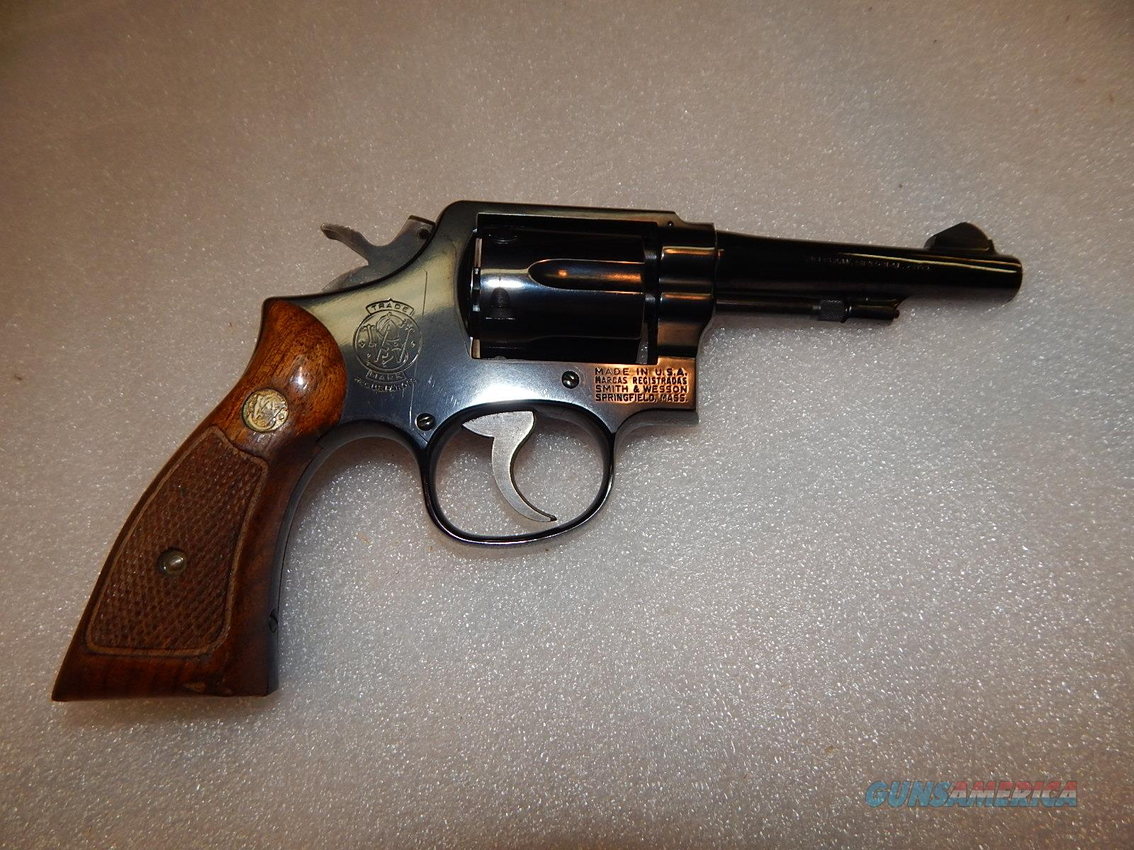 "S&W Model 10-5 4"" Blued   Guns > Pistols > Smith & Wesson Revolvers > Model 10"