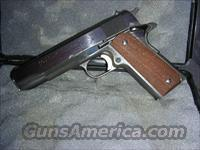 Colt Mark IV Series 70 Super 38 (S.O.)  Guns > Pistols > Colt Automatic Pistols (1911 & Var)